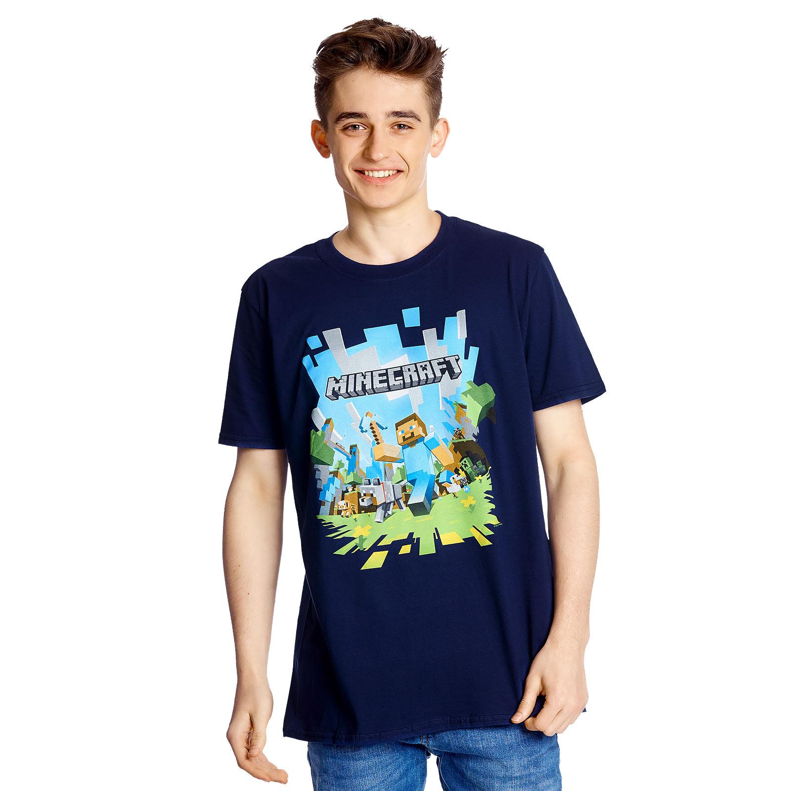 Minecraft - Adventure T-Shirt Herren