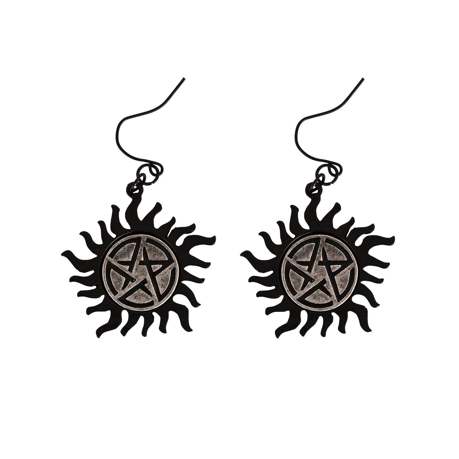 Supernatural - Anti Possession Symbol Ohrringe