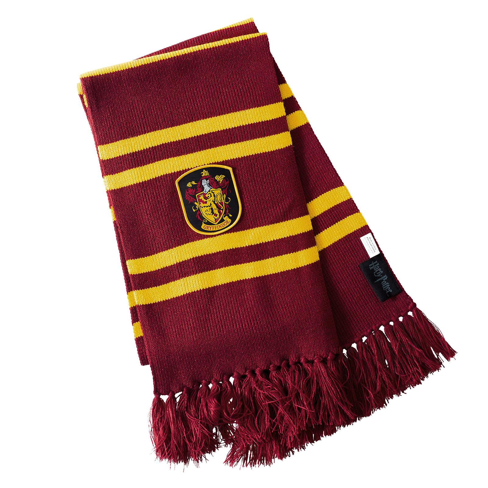 Harry Potter - Gryffindor Strickschal gelb-rot