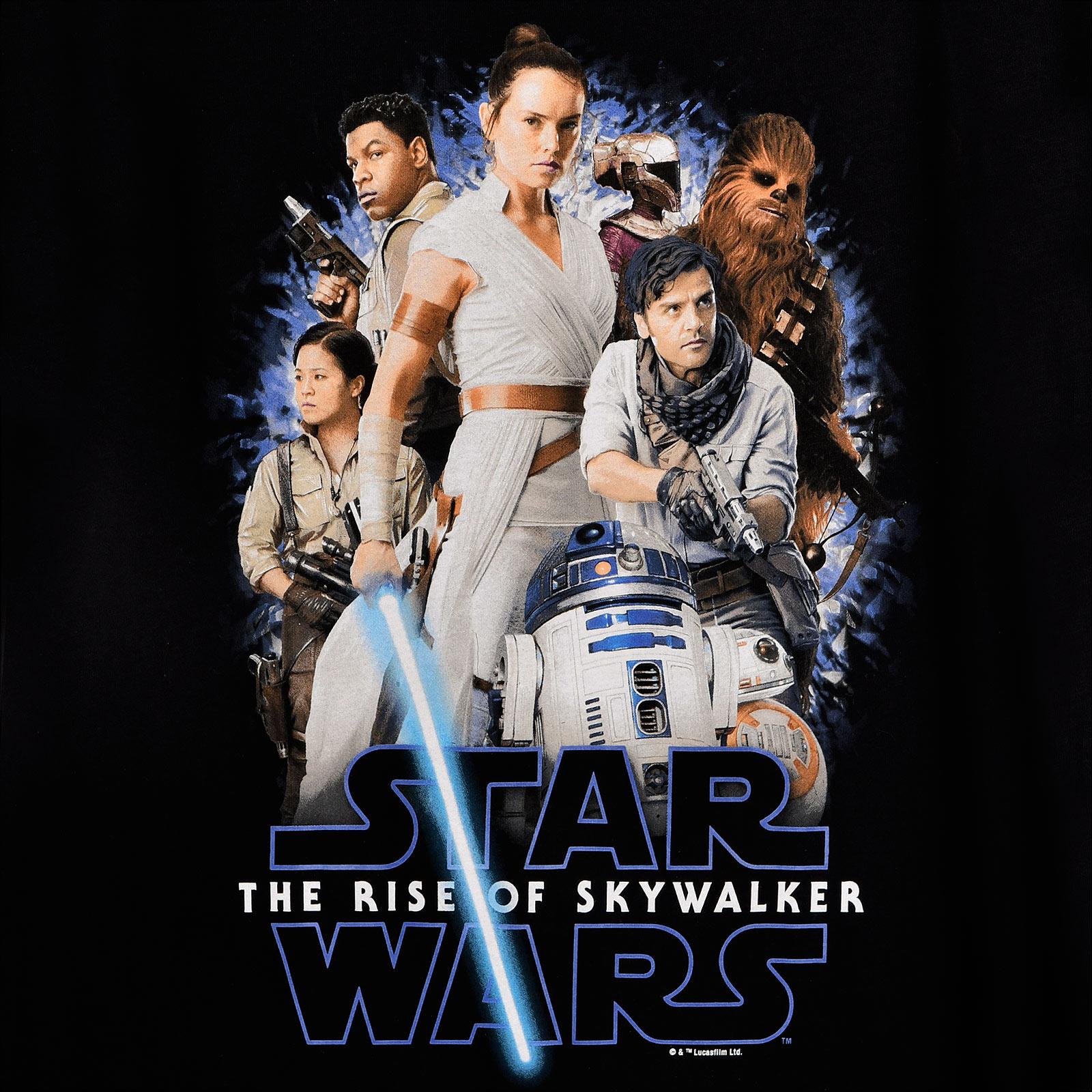 Star Wars - The Rise of Skywalker Collage T-Shirt schwarz