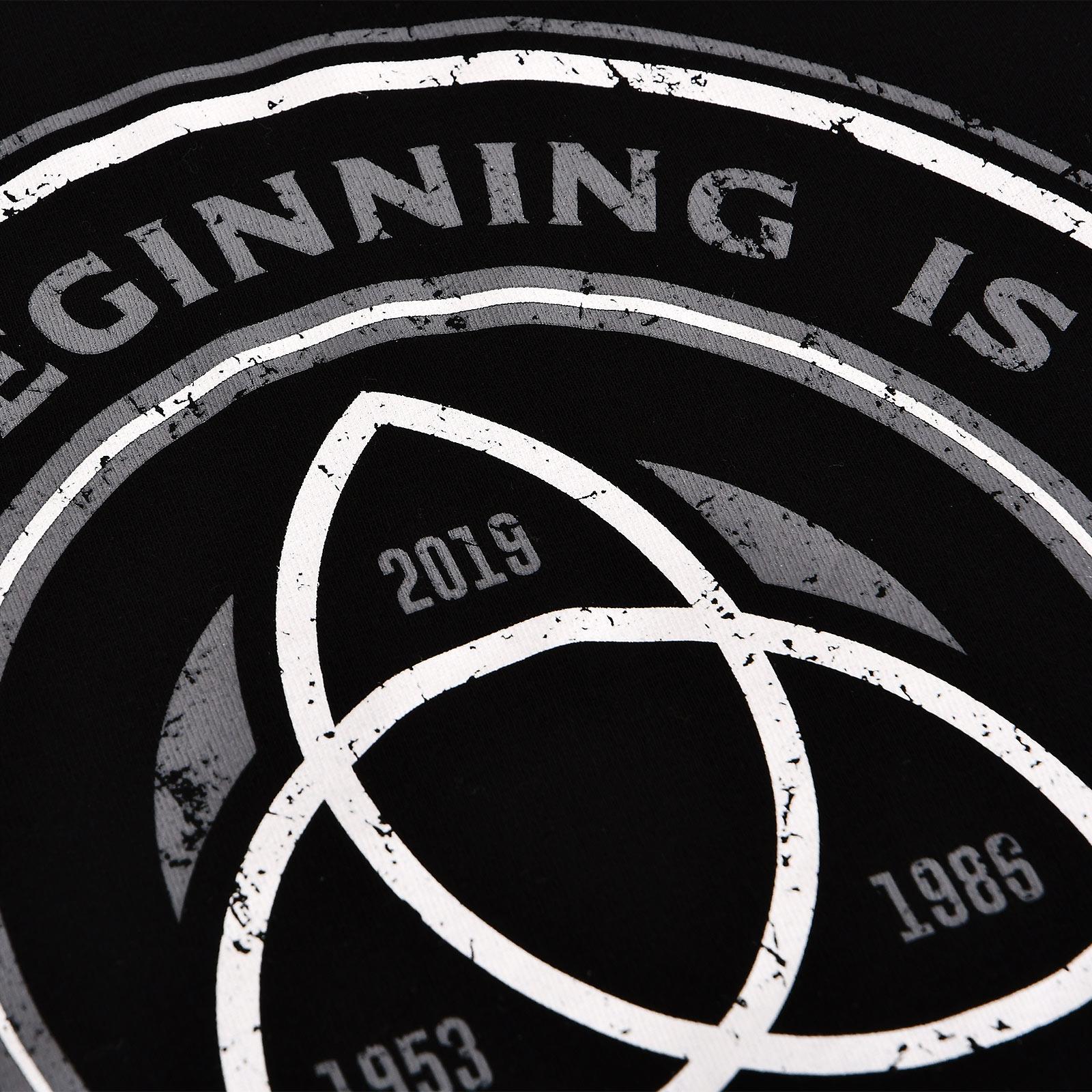 Beginning & End T-Shirt für Dark Fans schwarz