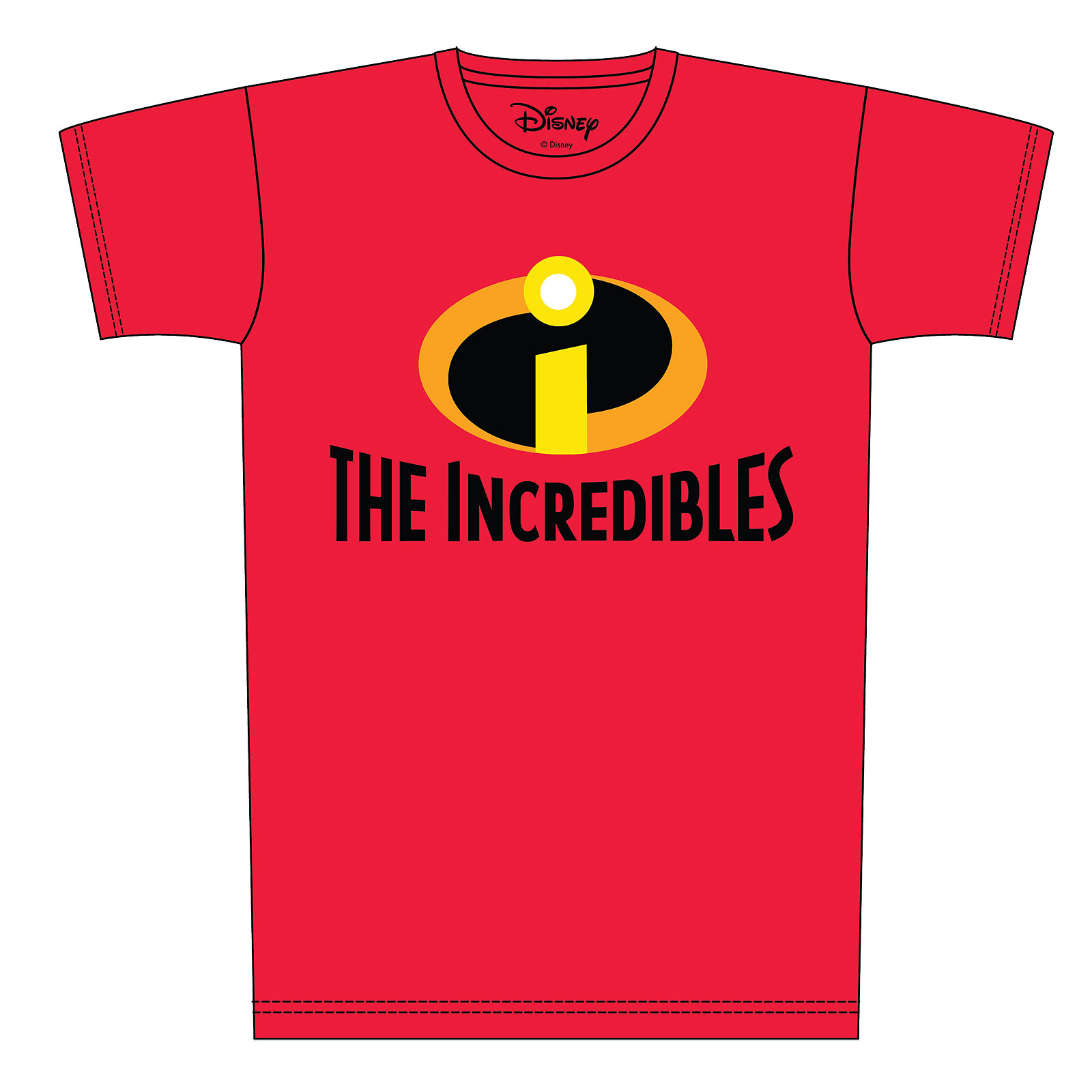 The Incredibles - Logo T-Shirt rot