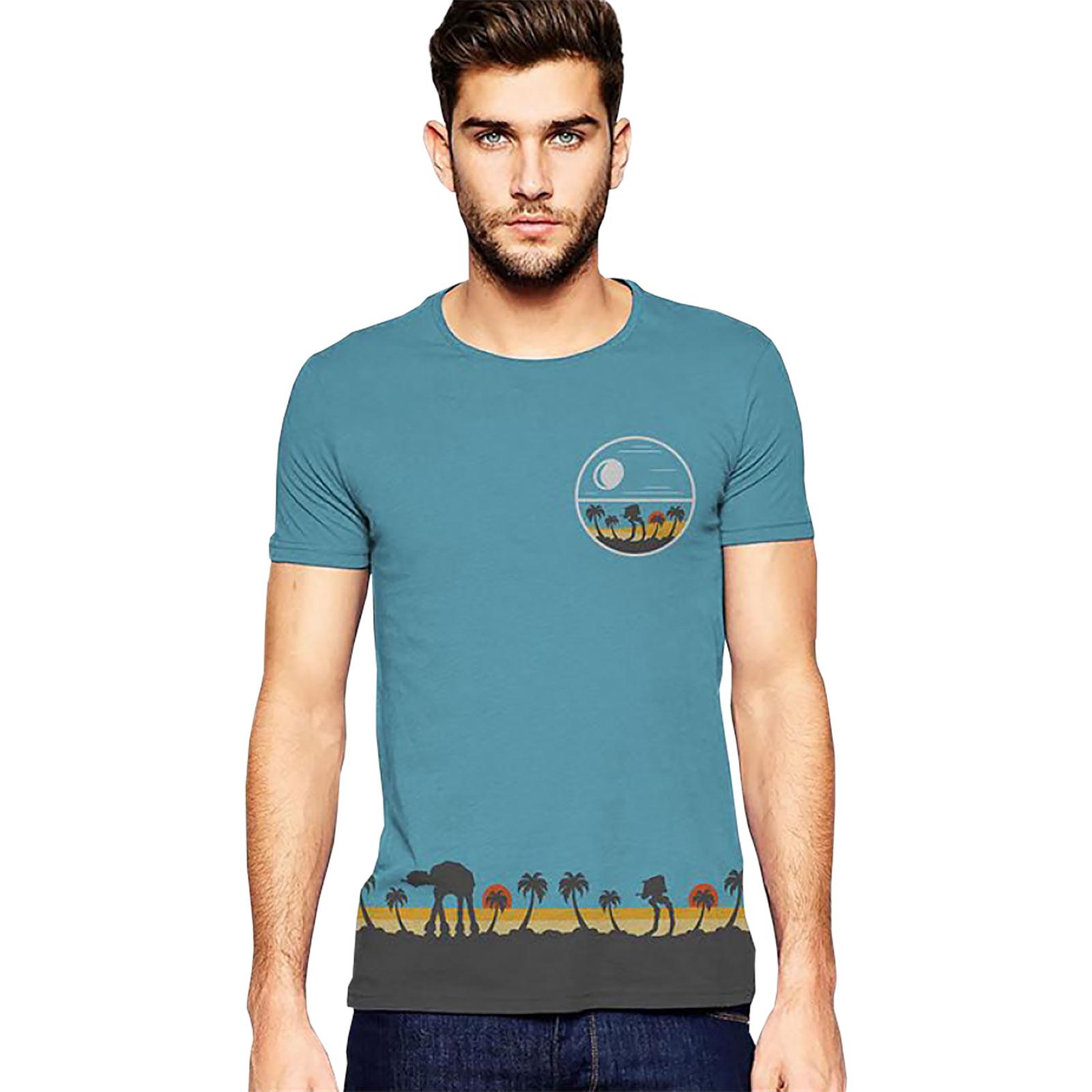Star Wars - Rogue One Tropical Scene T-Shirt