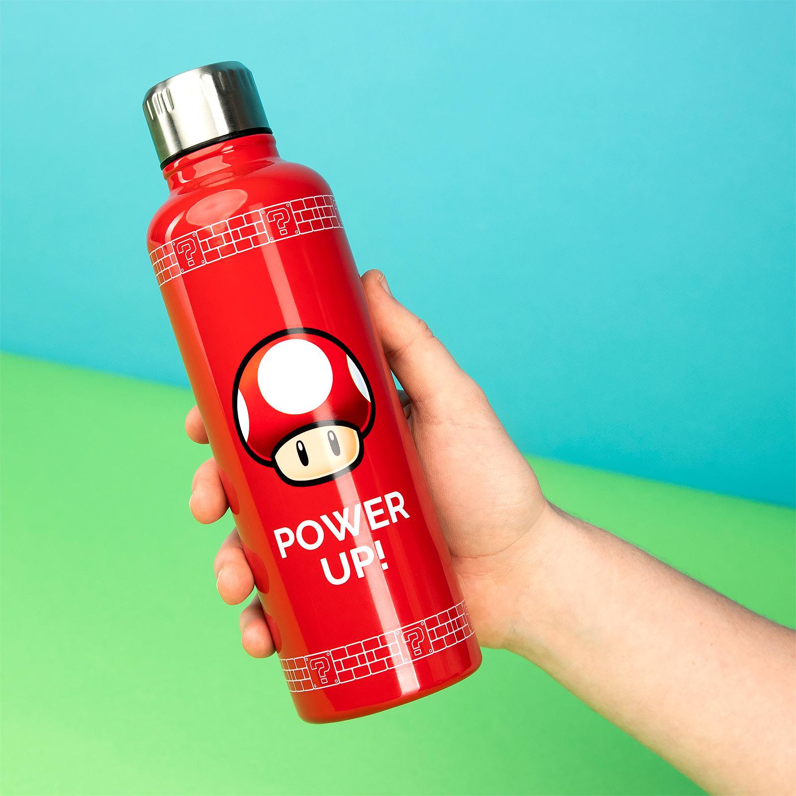 Super Mario - Super-Pilz Trinkflasche