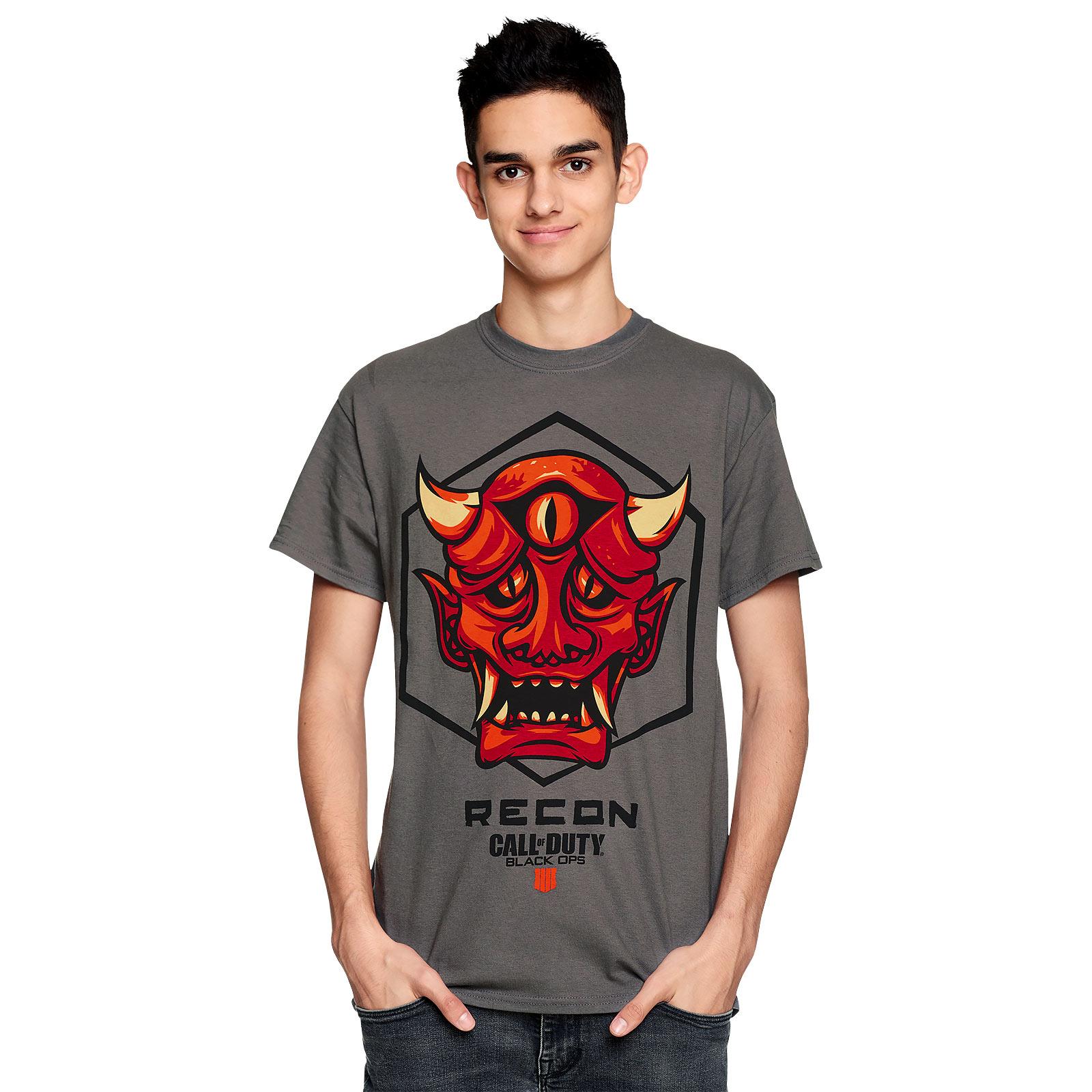 Call of Duty - Recon Badge T-Shirt grau