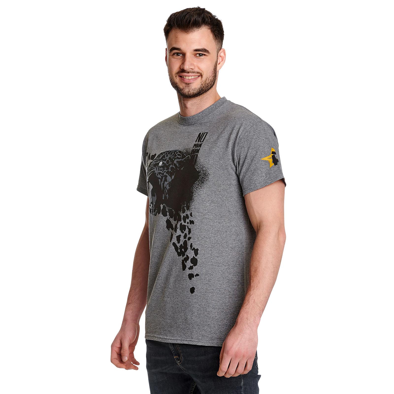 Cyberpunk 2077 - Animals Spray T-Shirt grau