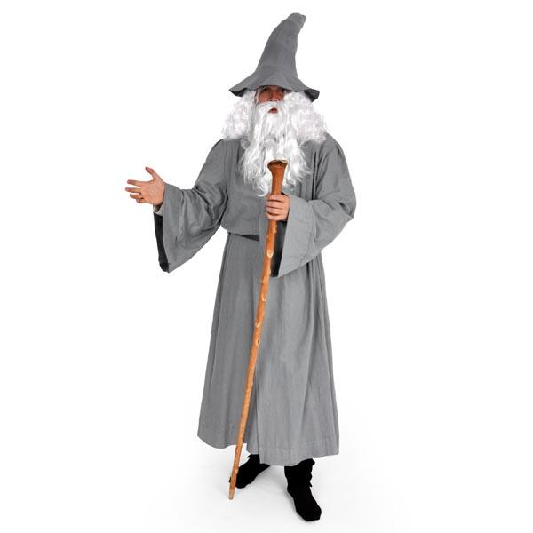 Zauberer-Mantel mit Gürtel