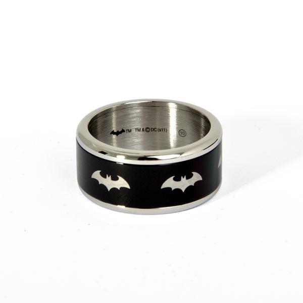 Batman - Symbol Ring schwarz