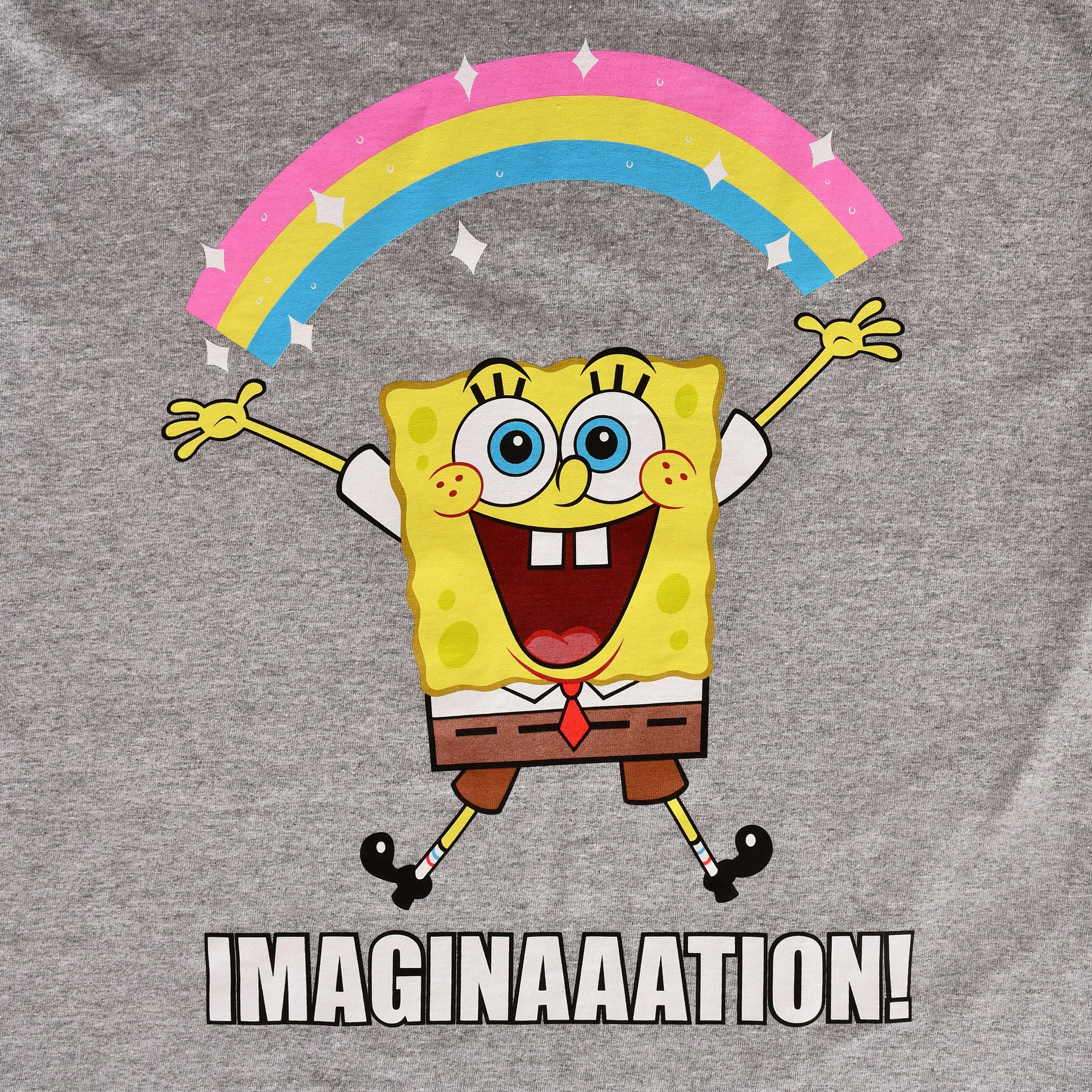 SpongeBob - Imaginaaation! T-Shirt grau