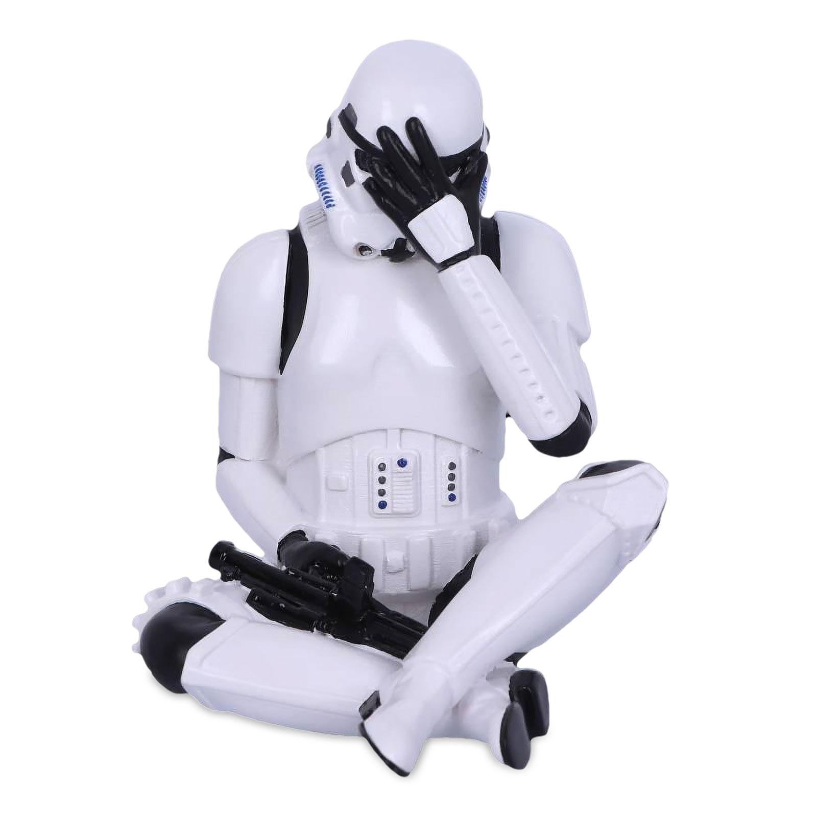 Original Stormtrooper Don't See Figur 10cm