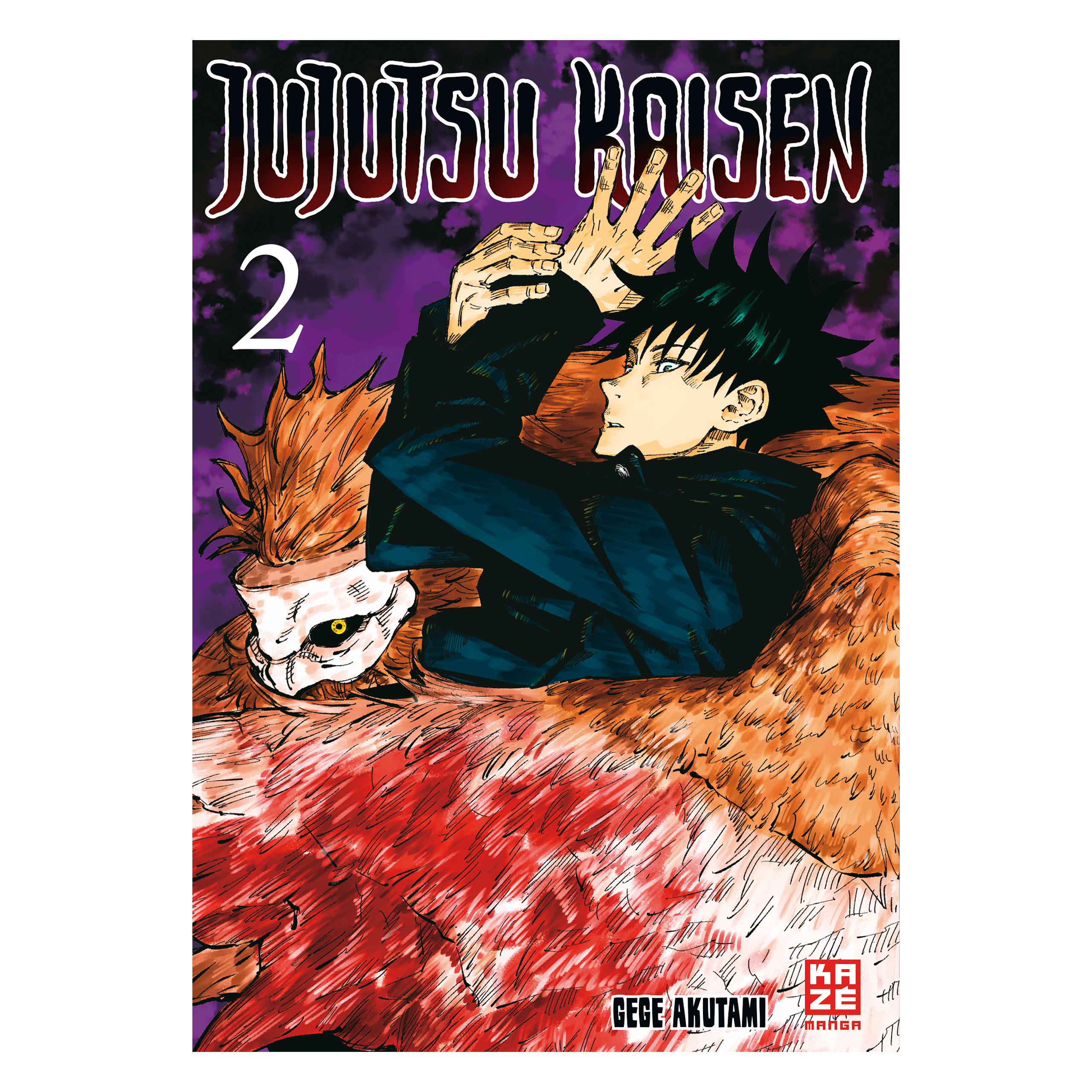 Jujutsu Kaisen - Band 2 Taschenbuch