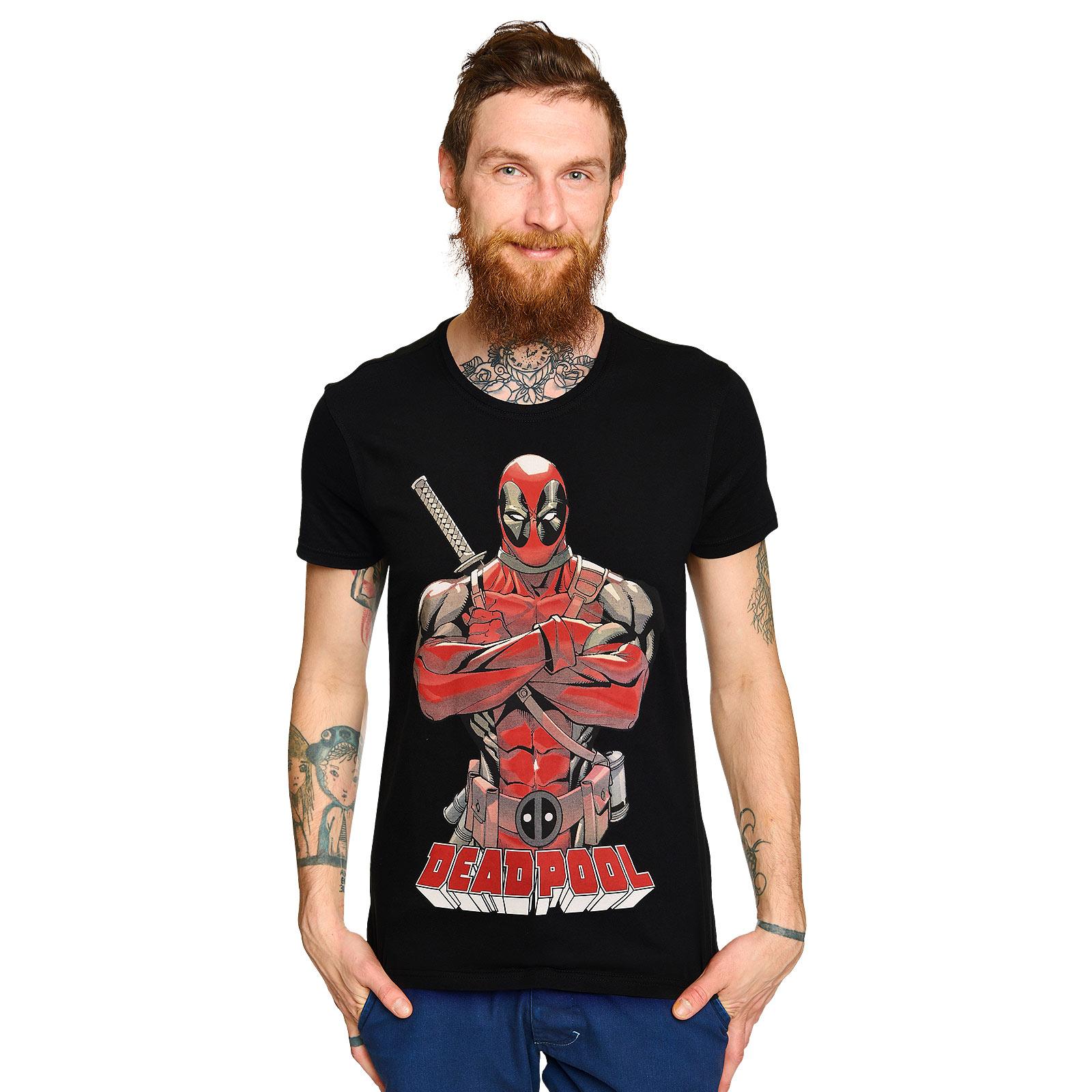 Deadpool - Hero Pose T-Shirt