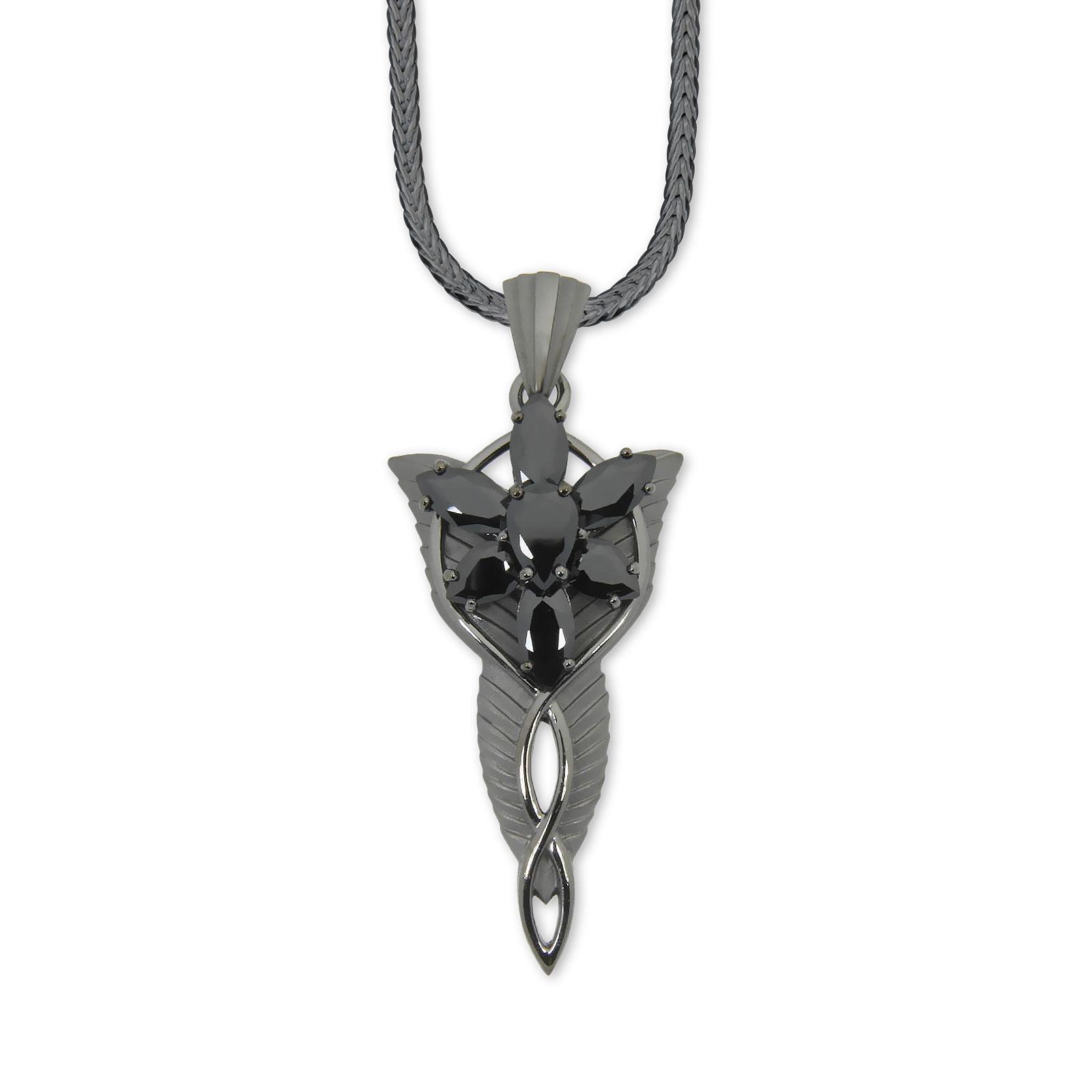 Arwens Abendstern inklusive Fuchsschwanzkette schwarz Dark Years Collection