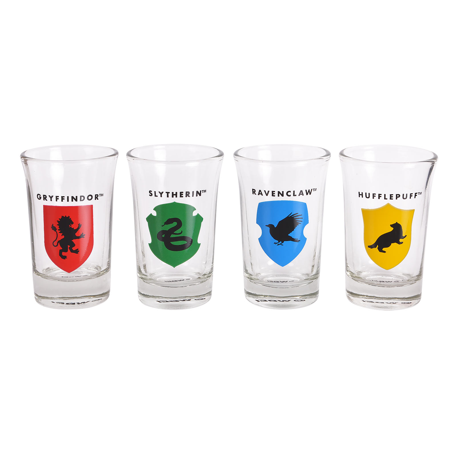 Harry Potter - Hogwarts Mini Gläserset