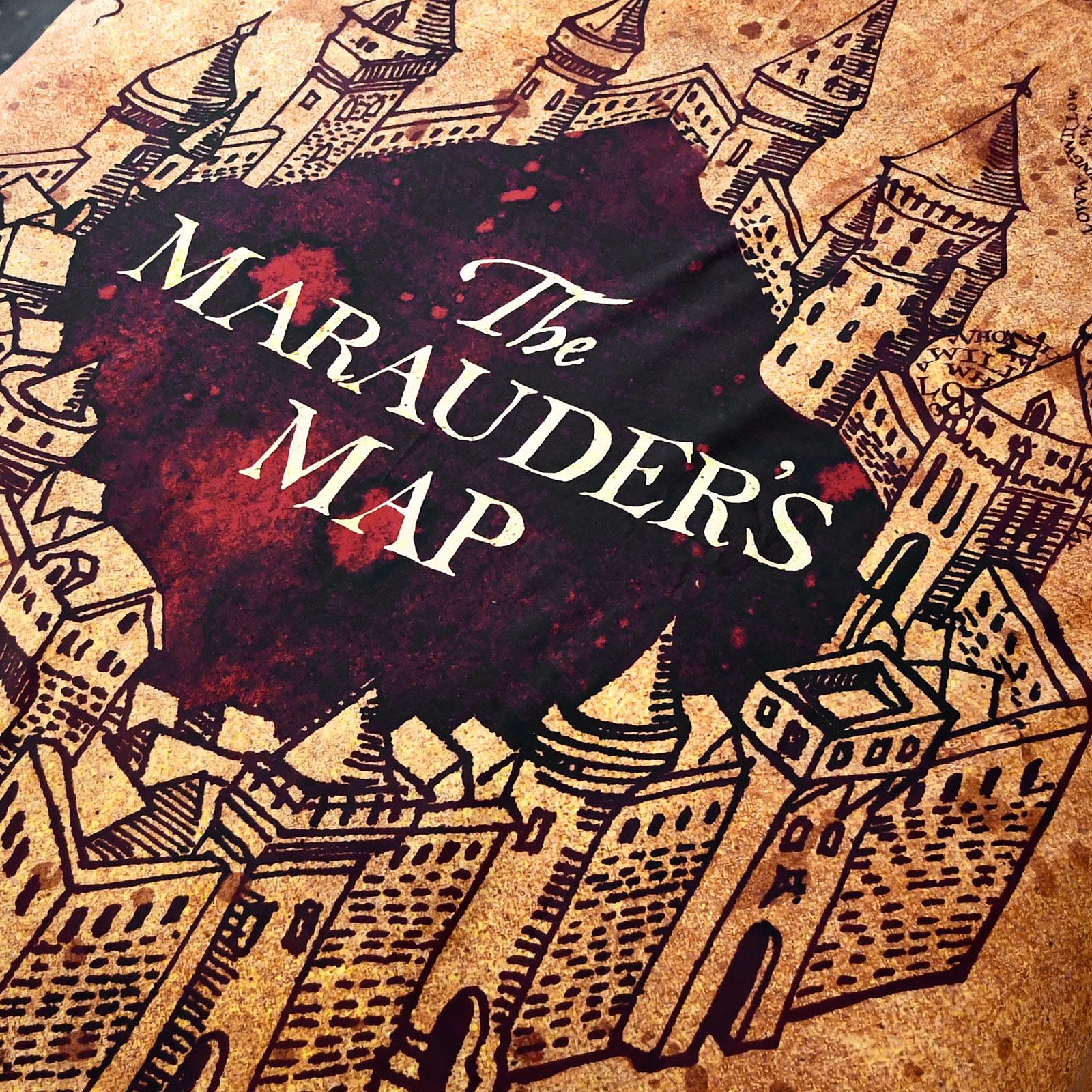 Harry Potter - Karte des Rumtreibers Bettwäsche