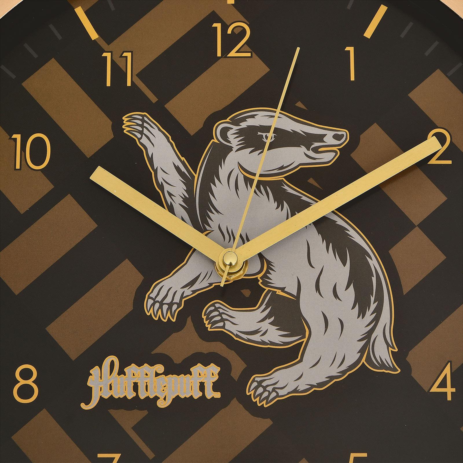 Harry Potter - Hufflepuff Wanduhr