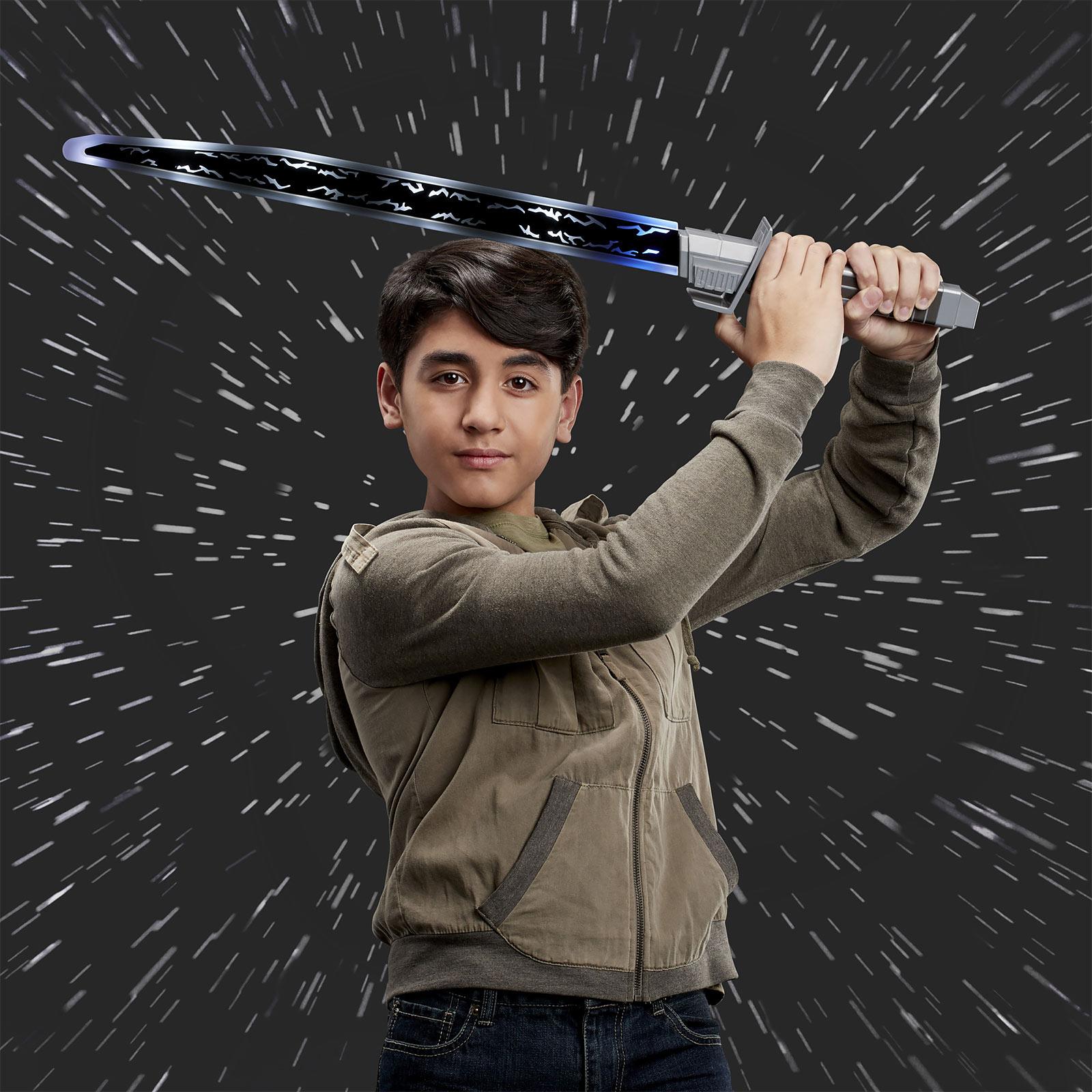 Mandalorianer Dunkelschwert für Kinder mit Licht und Sound - Star Wars