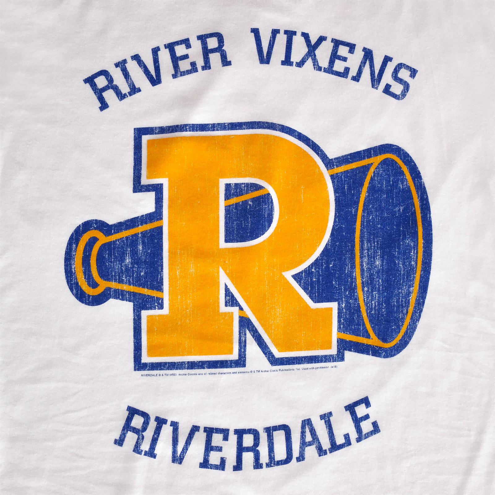 Riverdale - River Vixens T-Shirt Damen weiß