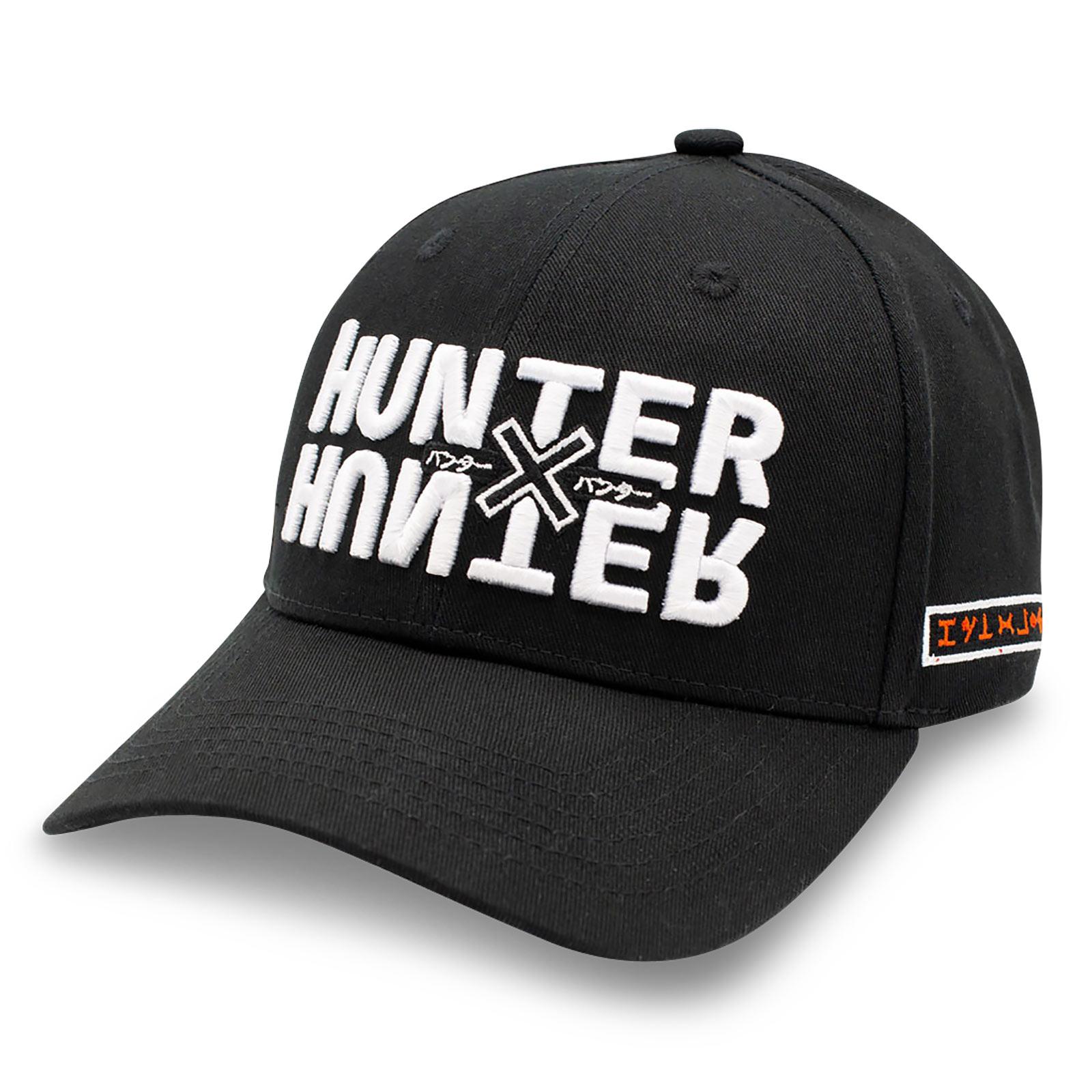 Hunter x Hunter - Logo Basecap schwarz