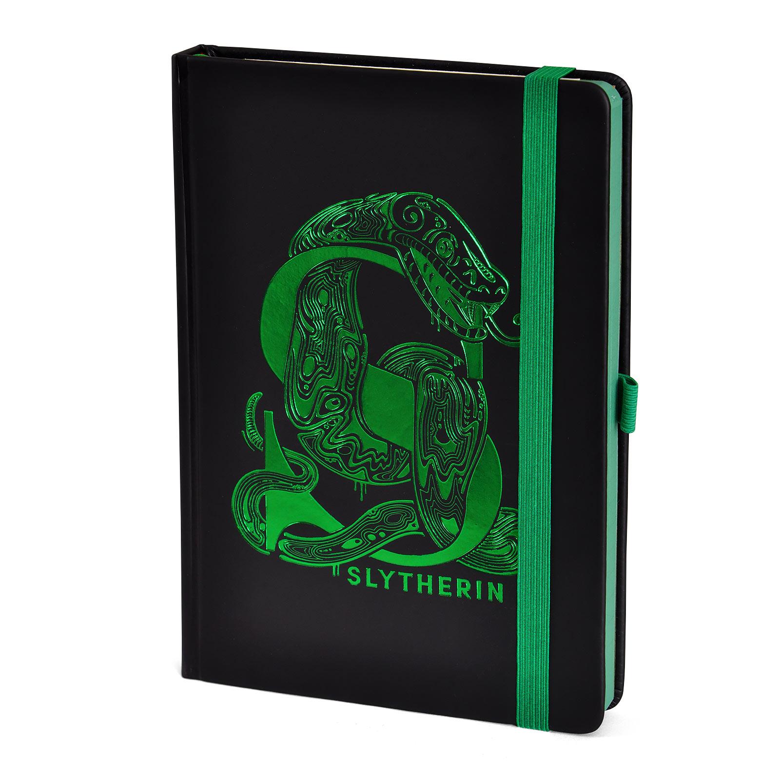 Harry Potter - Slytherin Art Premium Notizbuch A5
