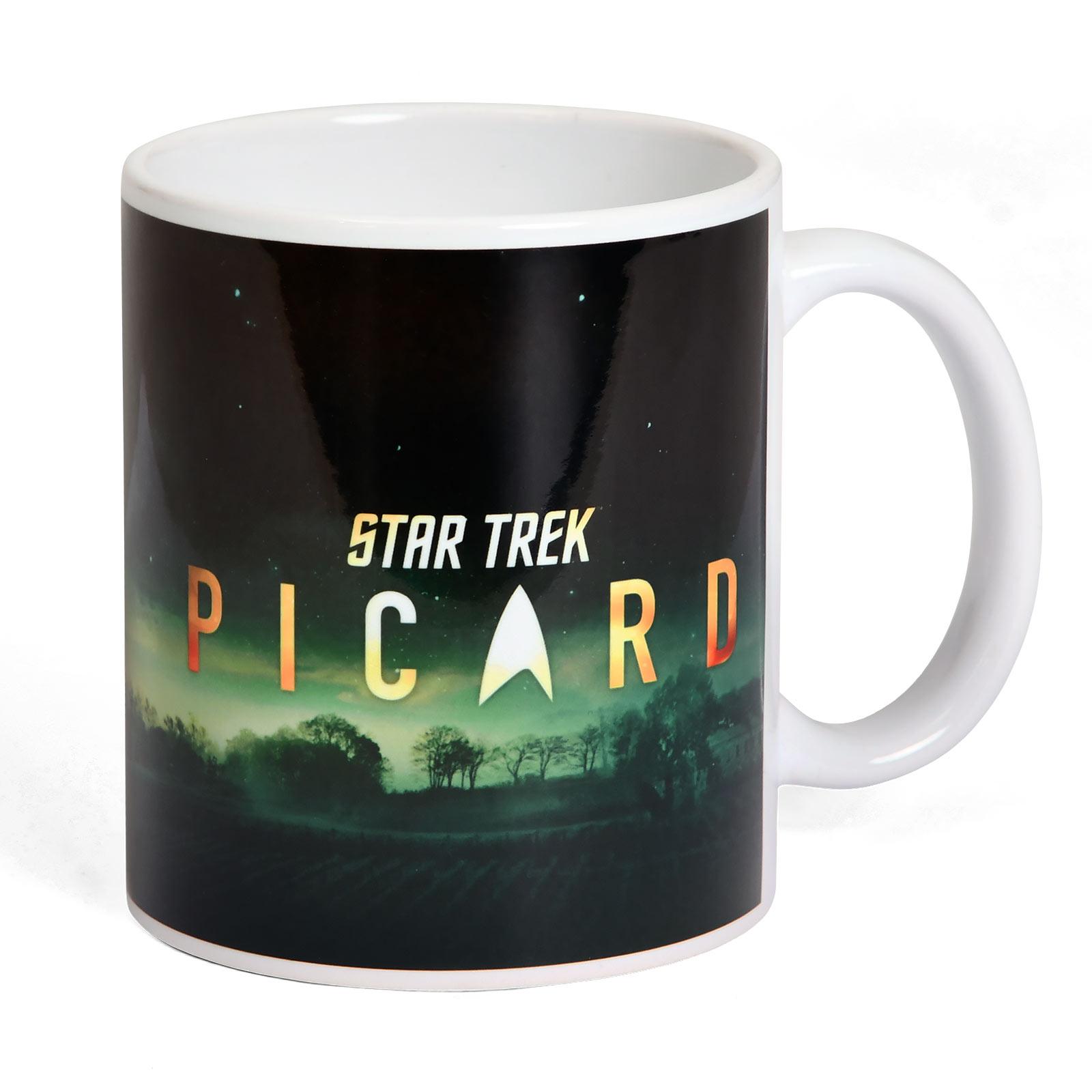 Star Trek - Picard Characters Tasse