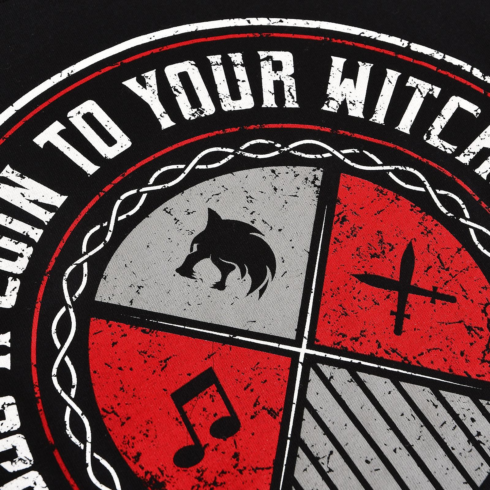 Toss a Coin Hoodie für Witcher Fans schwarz