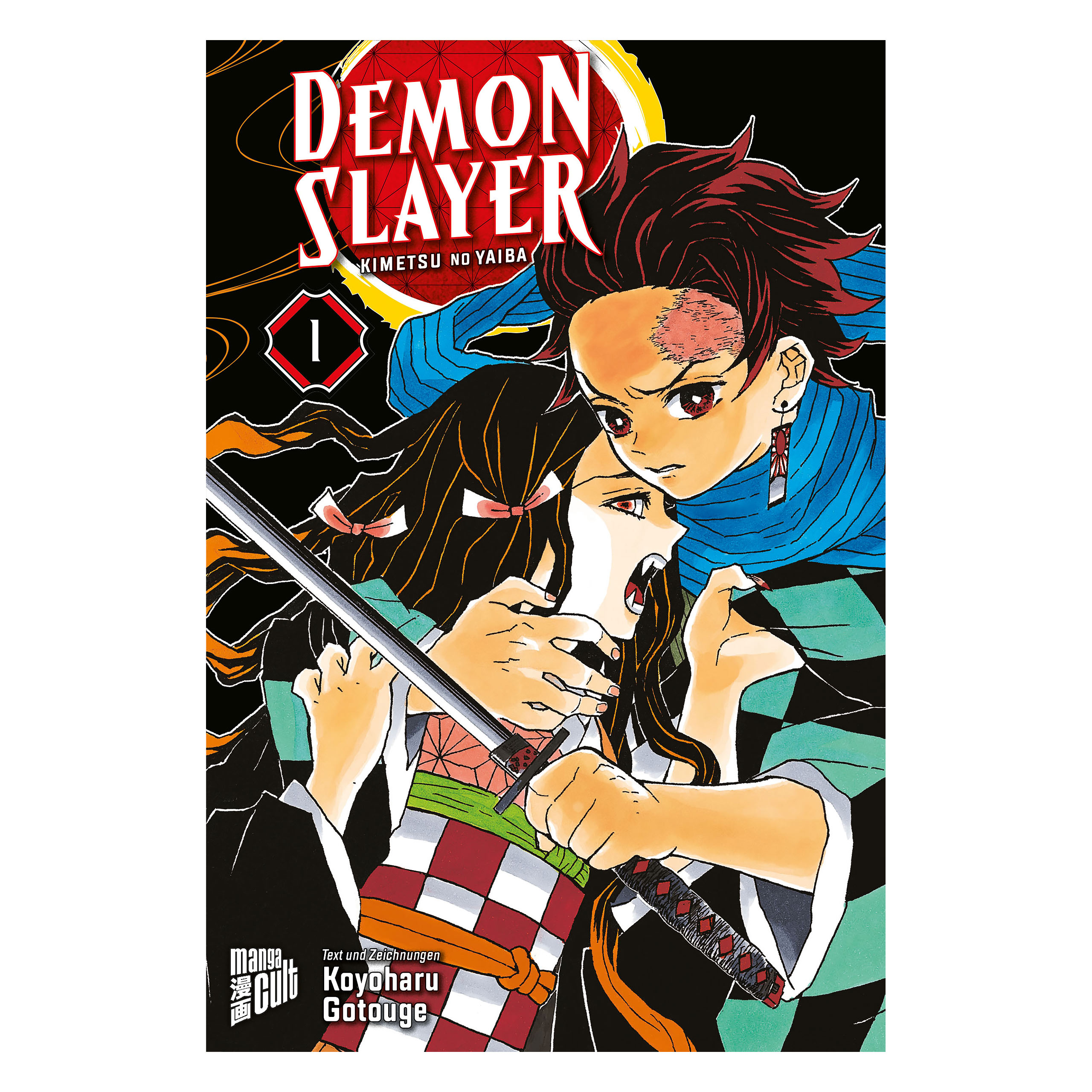 Demon Slayer - Kimetsu no yaiba Band 1 Taschenbuch