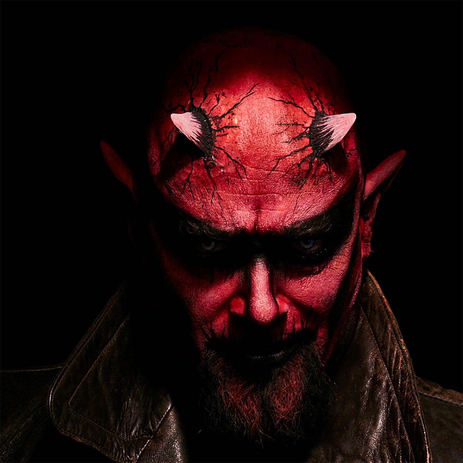 Dämon - Hörner aus Latex