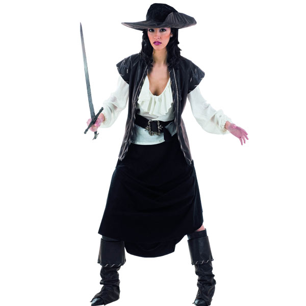 Piratin - Deluxe Kostüm