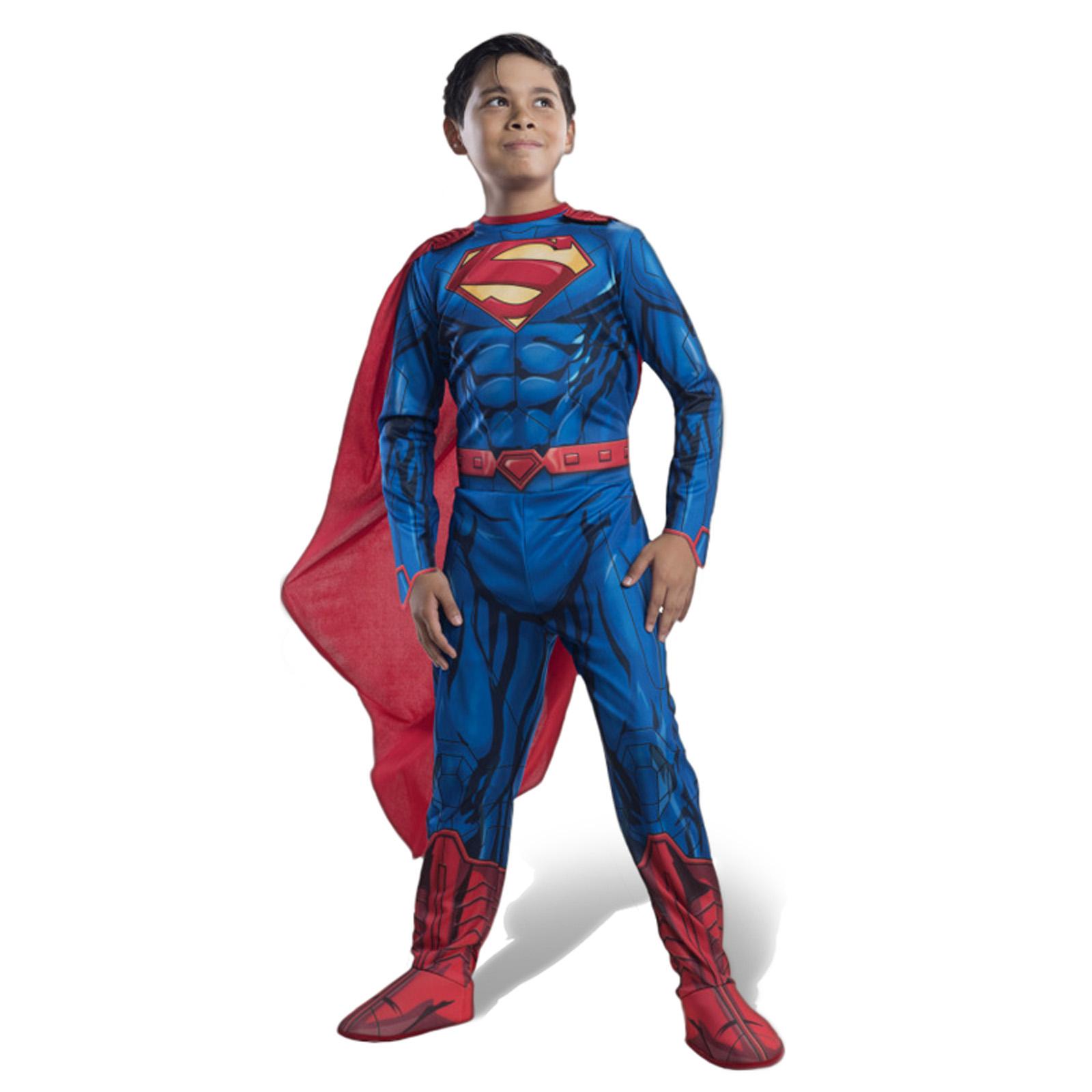Superman - Overall Kinder Kostüm