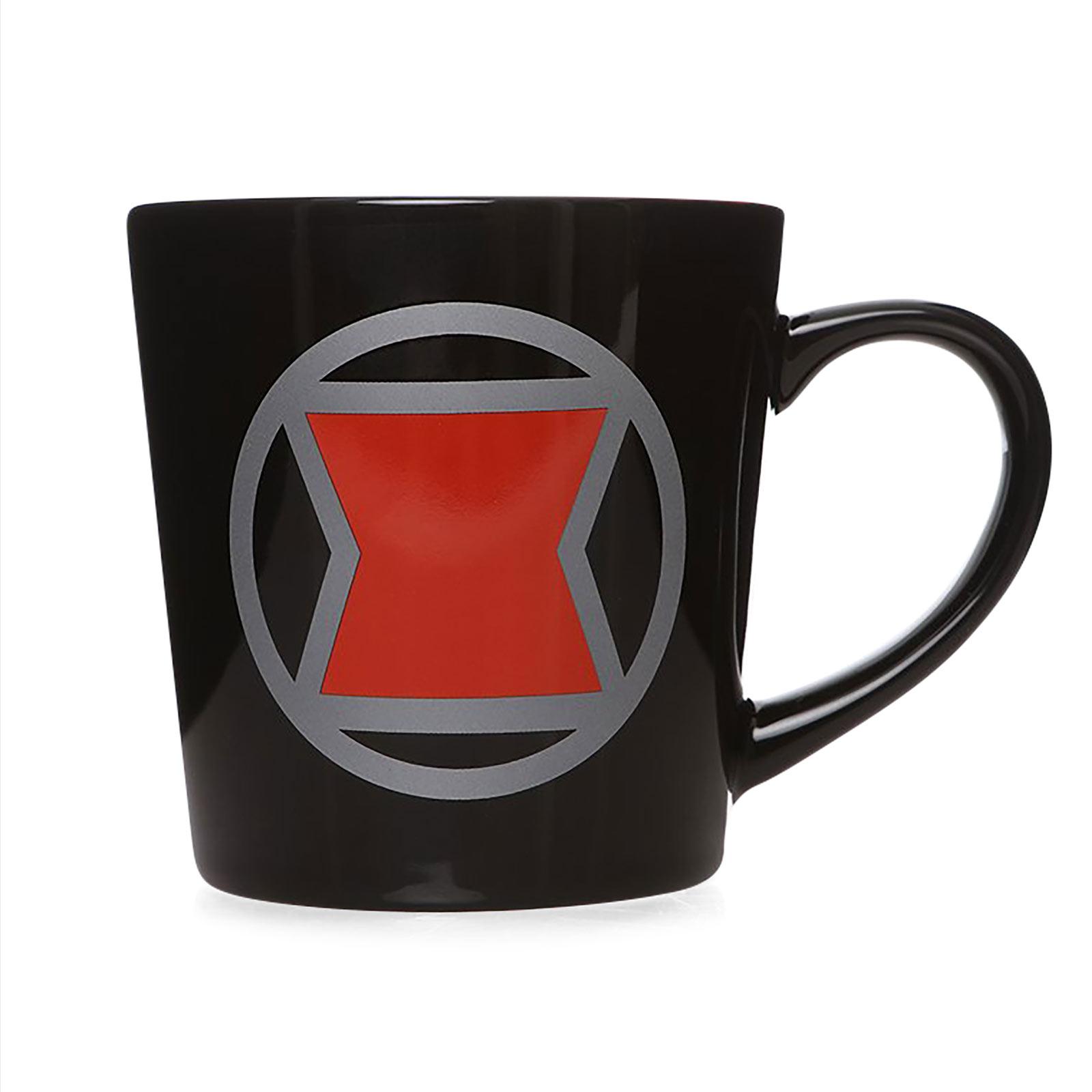 Black Widow - Logo Tasse