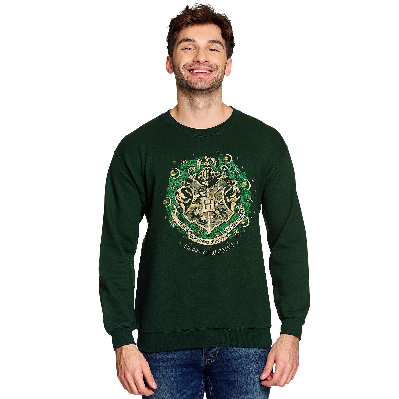 Harry Potter - Happy Hogwarts Sweater grün
