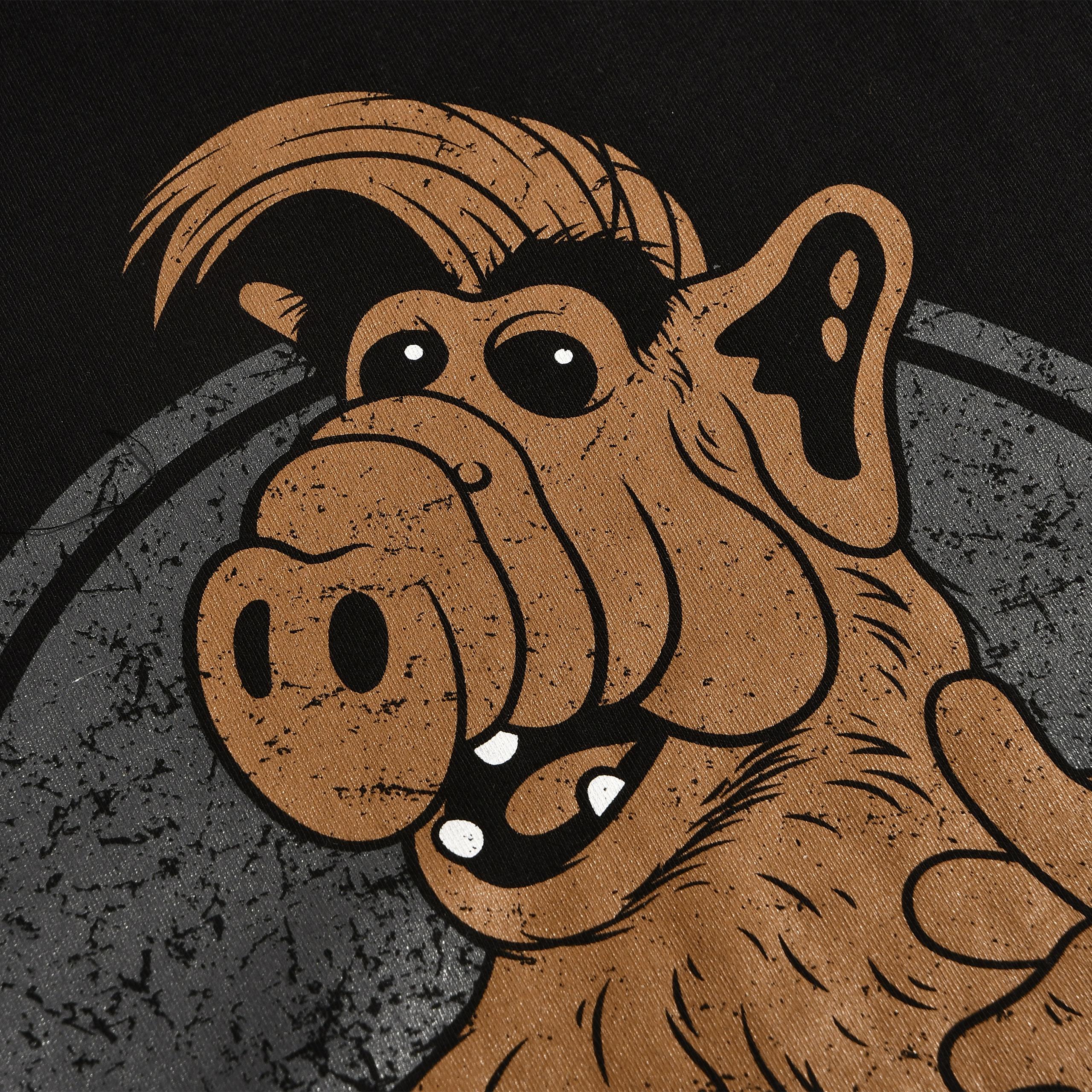 Null Problemo! T-Shirt für Alf Fans schwarz