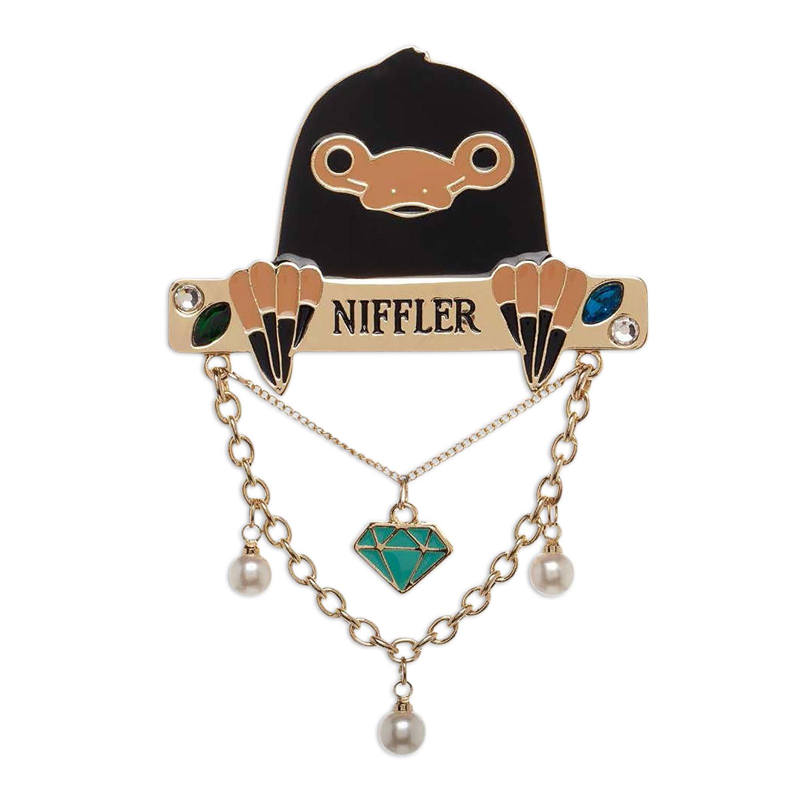 Niffler Brosche - Phantastische Tierwesen
