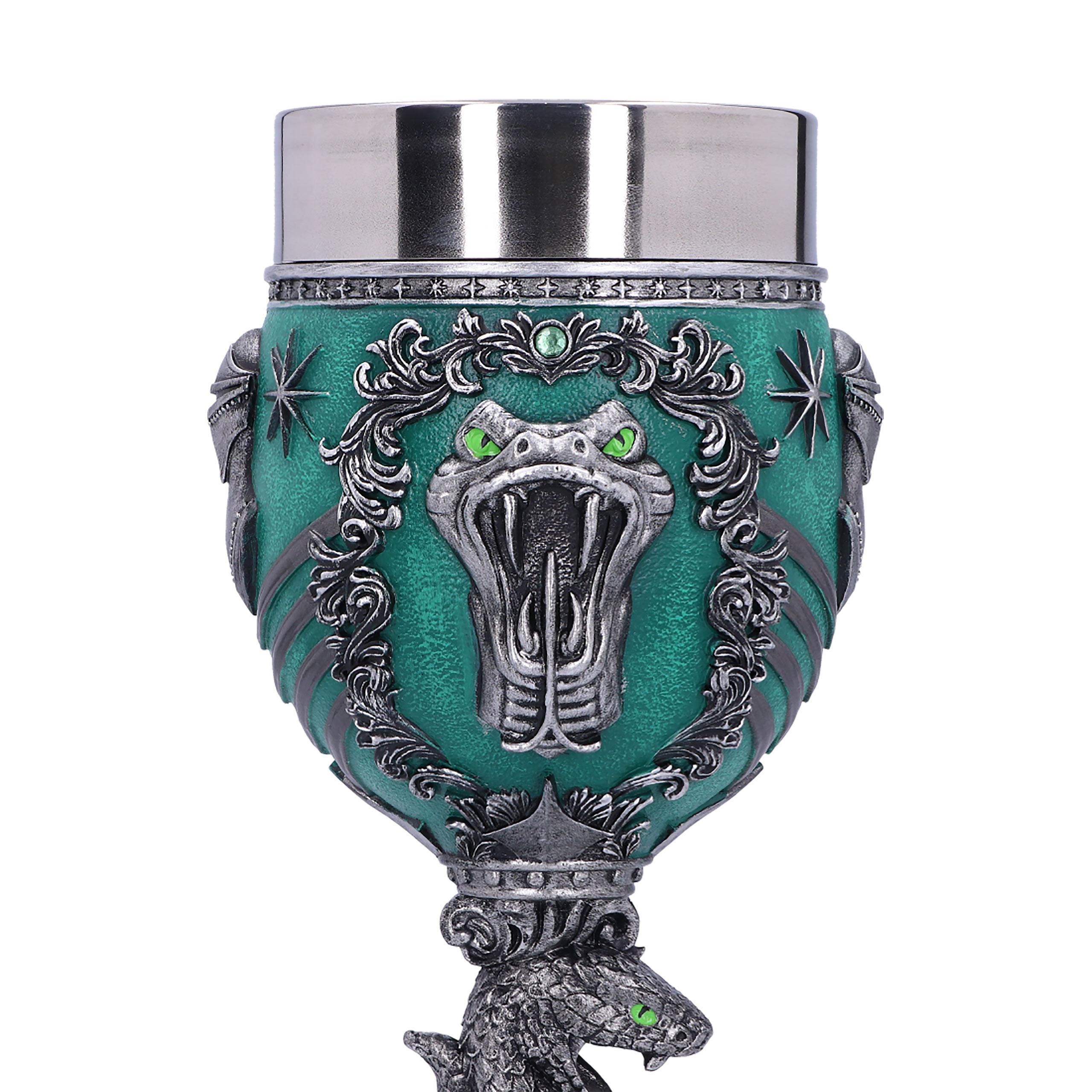 Harry Potter - Slytherin Logo Kelch deluxe
