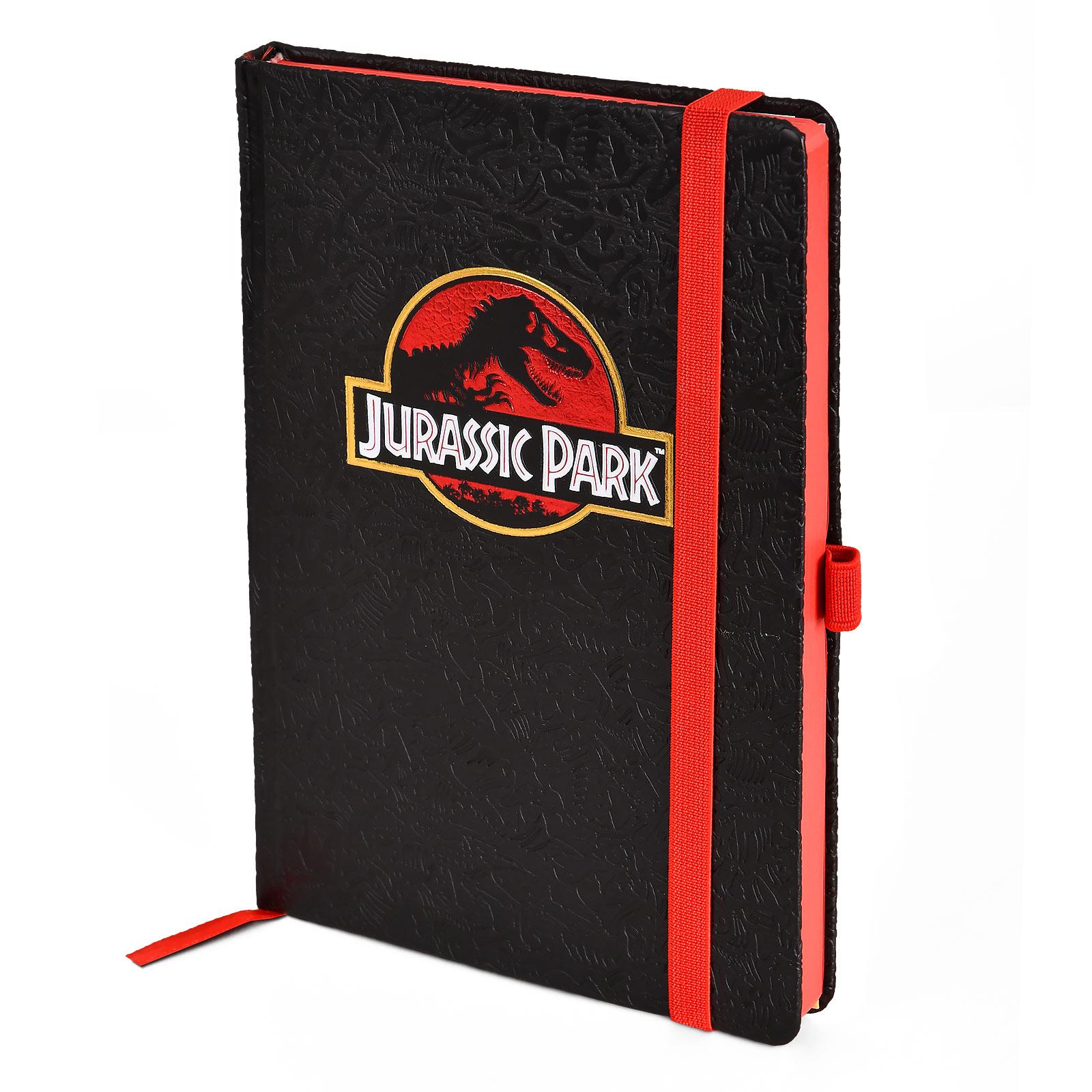 Jurassic Park - Movie Logo Premium Notizbuch A5