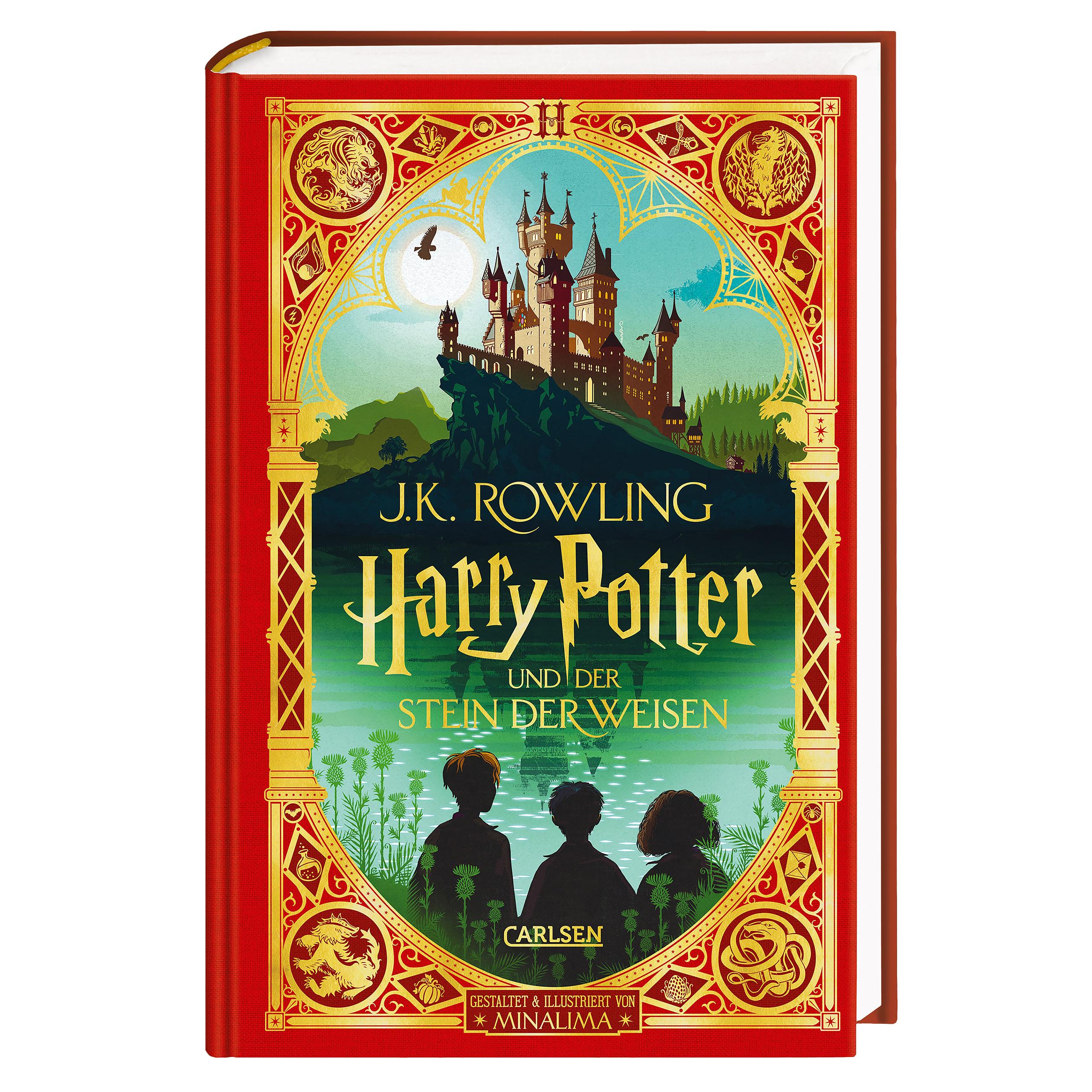 Harry Potter und der Stein der Weisen - MinaLima Ausgabe