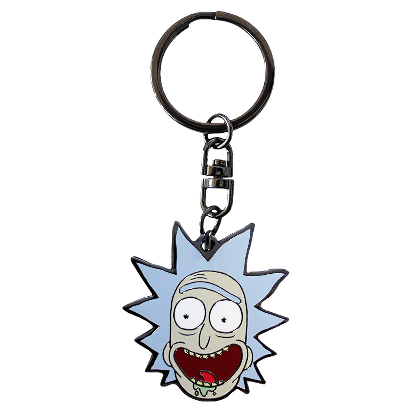 Rick and Morty - Rick Face Schlüsselanhänger