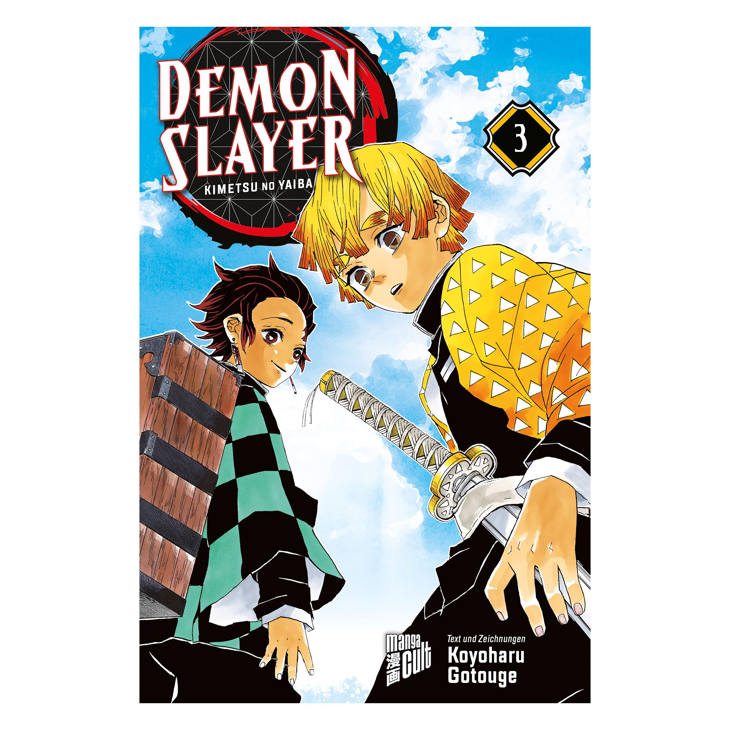 Demon Slayer - Kimetsu no yaiba Band 3 Taschenbuch