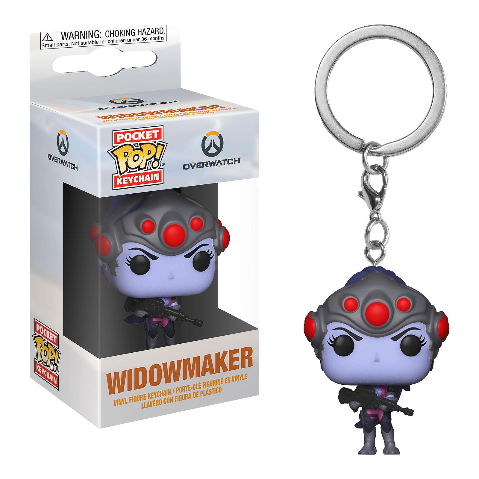 Overwatch - Widowmaker Funko Pop Schlüsselanhänger