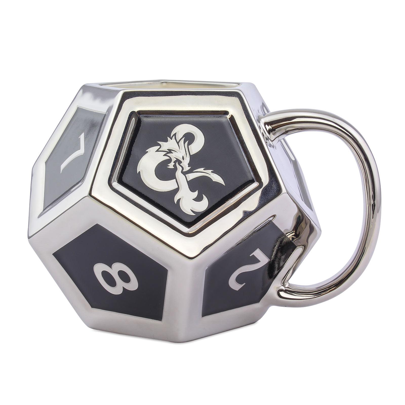 Dungeons & Dragons - D12 Würfel Tasse