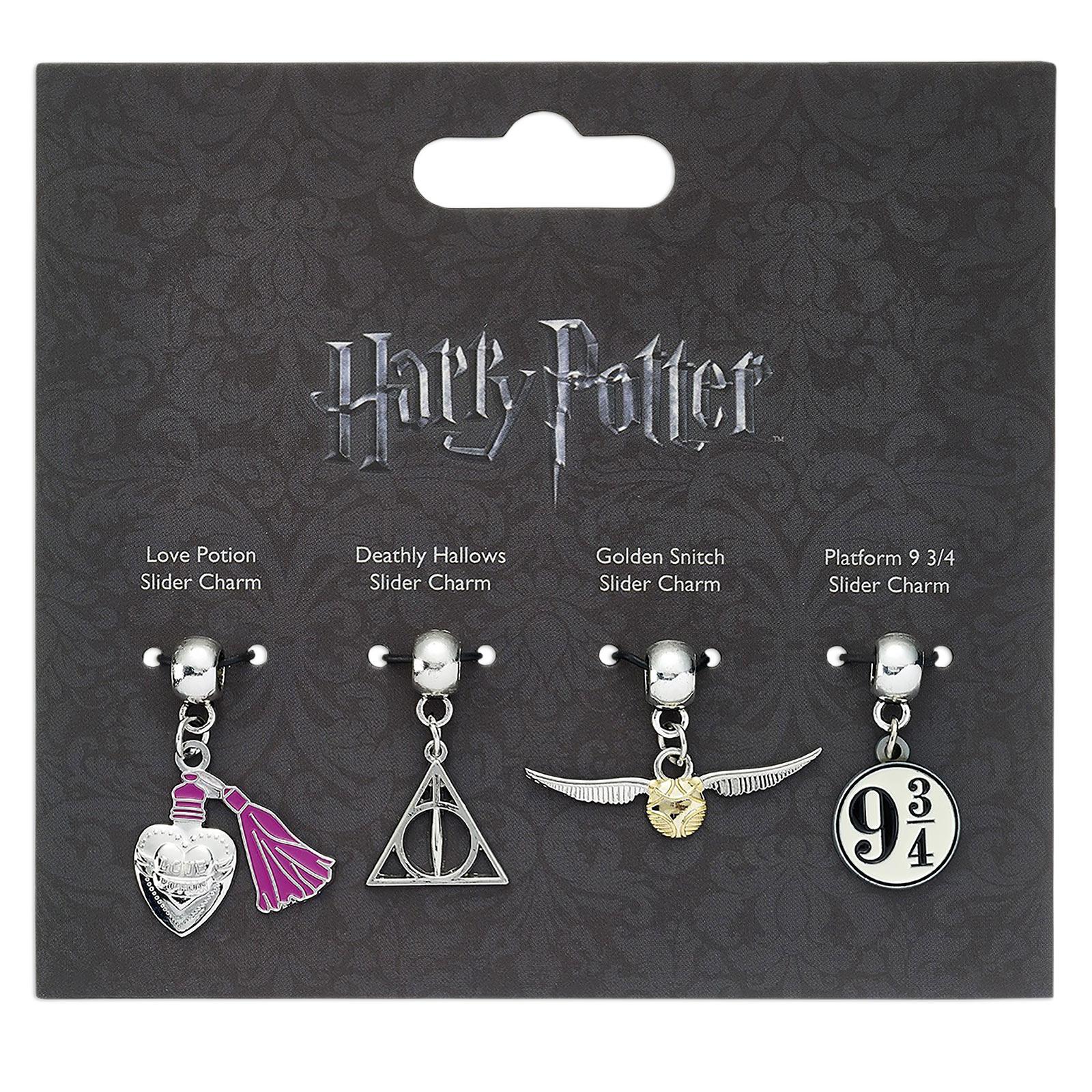Harry Potter - Slider Charm Anhänger-Set