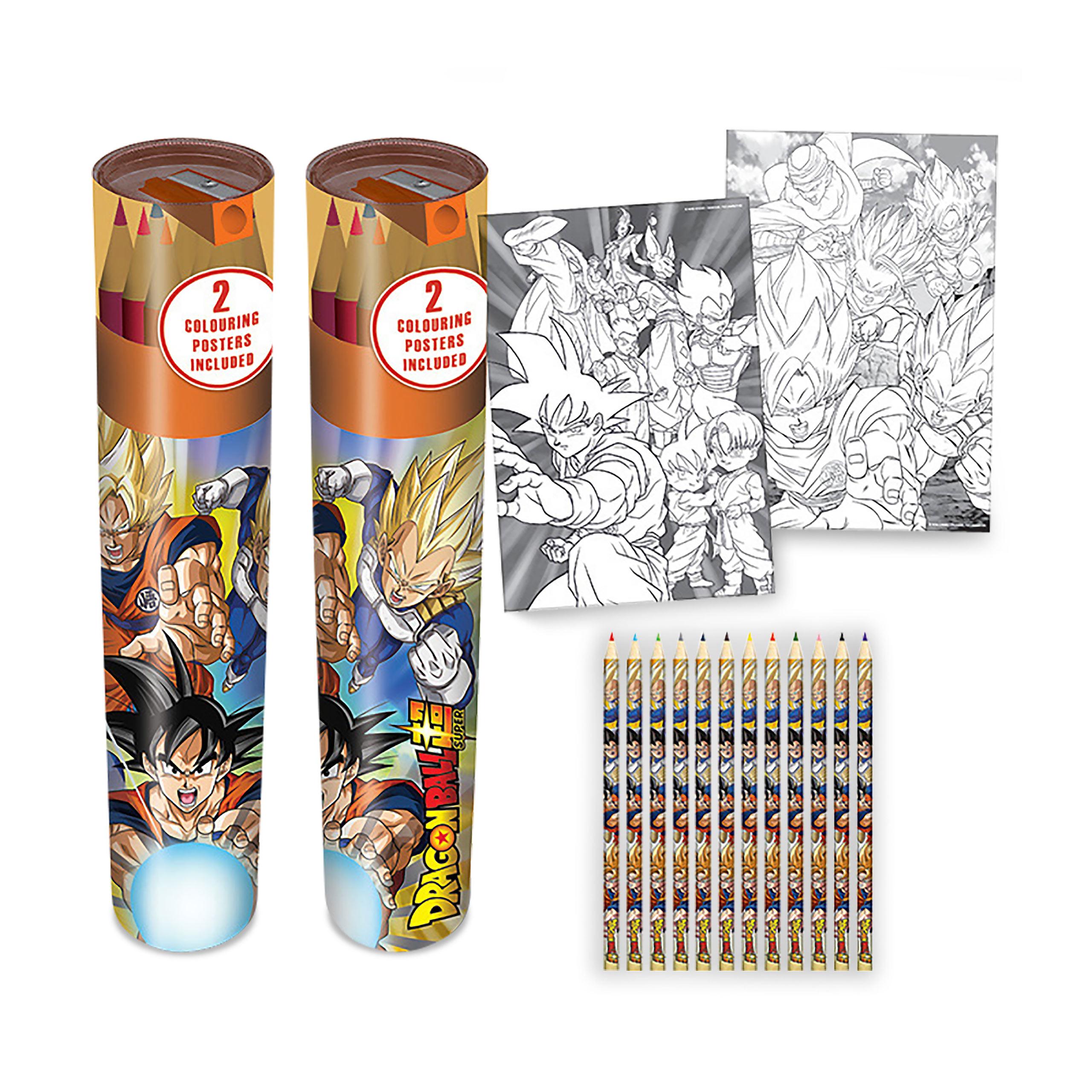 Dragon Ball - Battle of Gods Stiftebox 12er Set