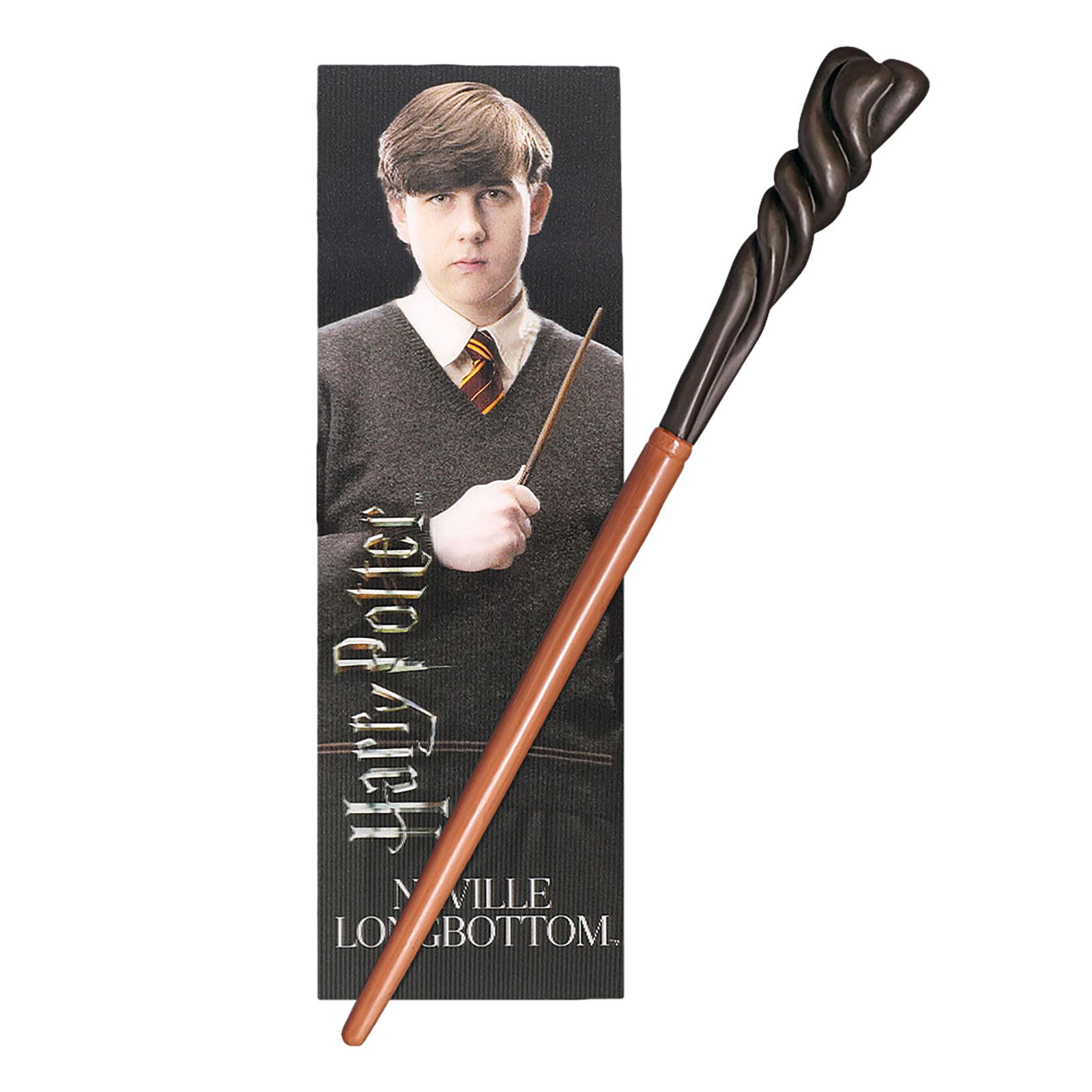 Neville Zauberstab für Jungzauberer mit Lesezeichen - Harry Potter