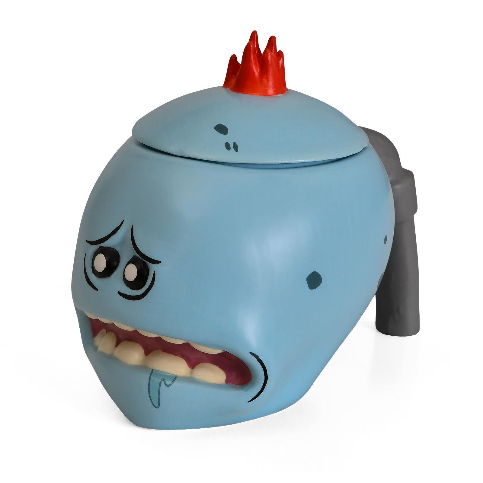 Rick and Morty - Mr. Meeseeks 3D Tasse mit Deckel