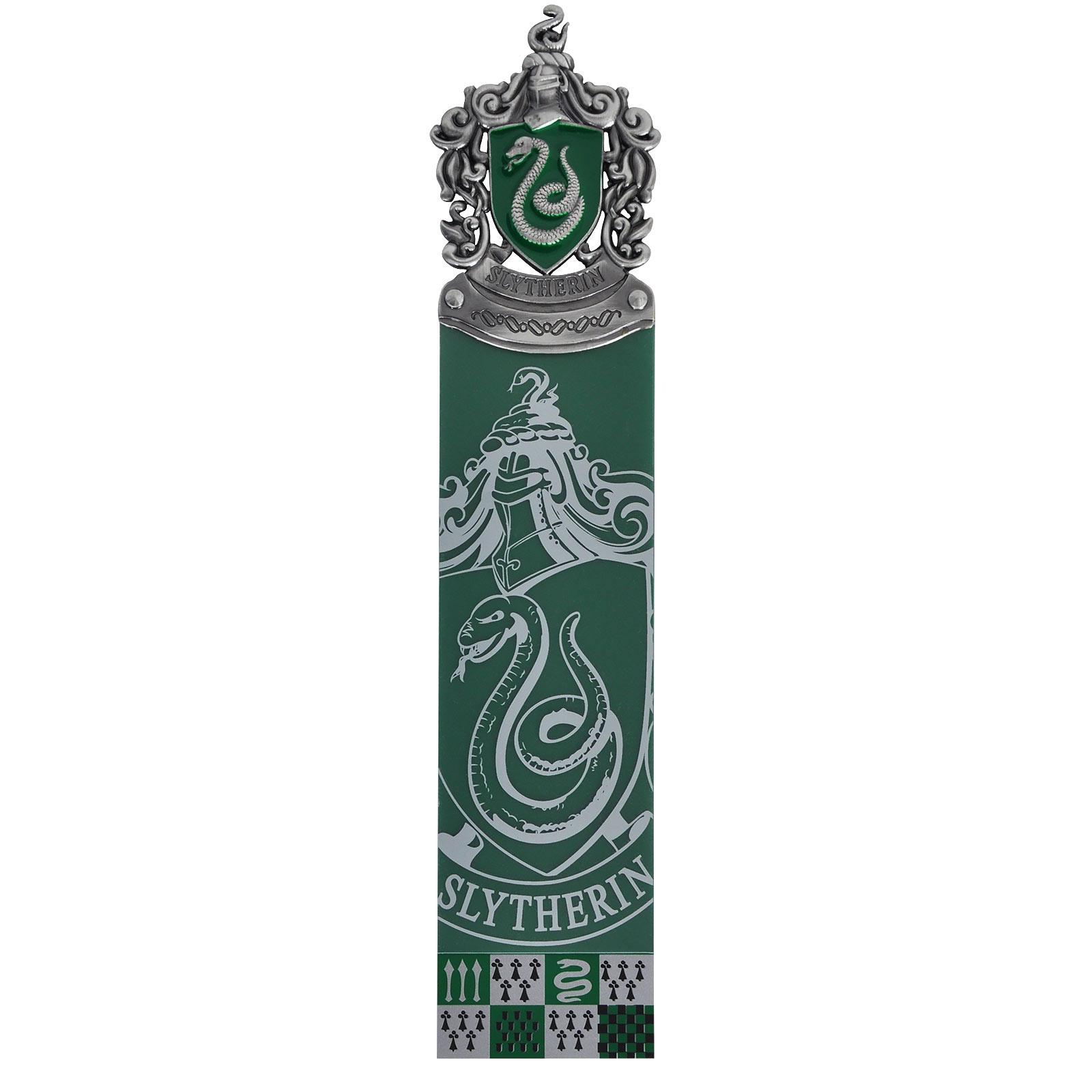 Harry Potter - Slytherin Lesezeichen grün