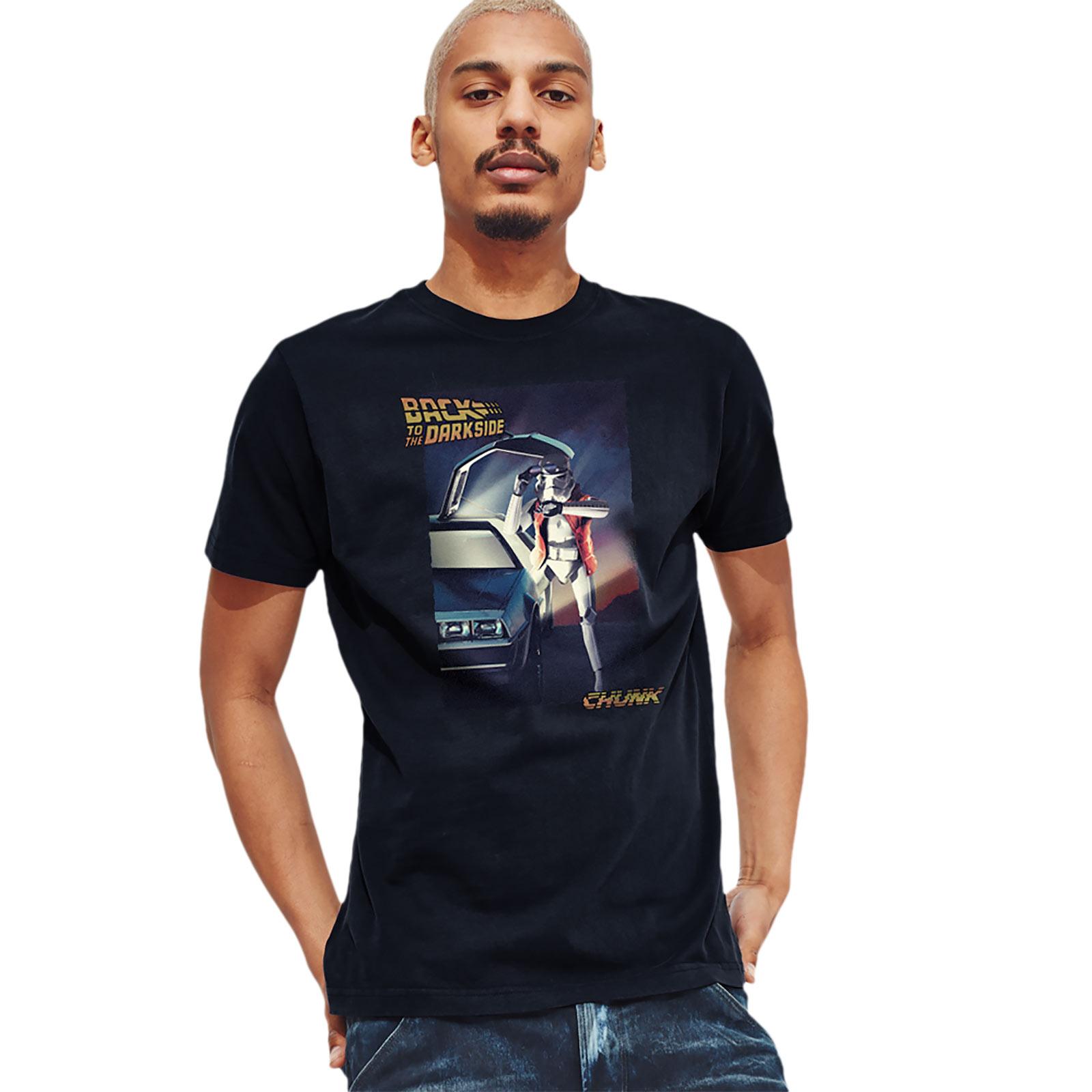 Back to the Dark Side T-Shirt für Star Wars Fans blau