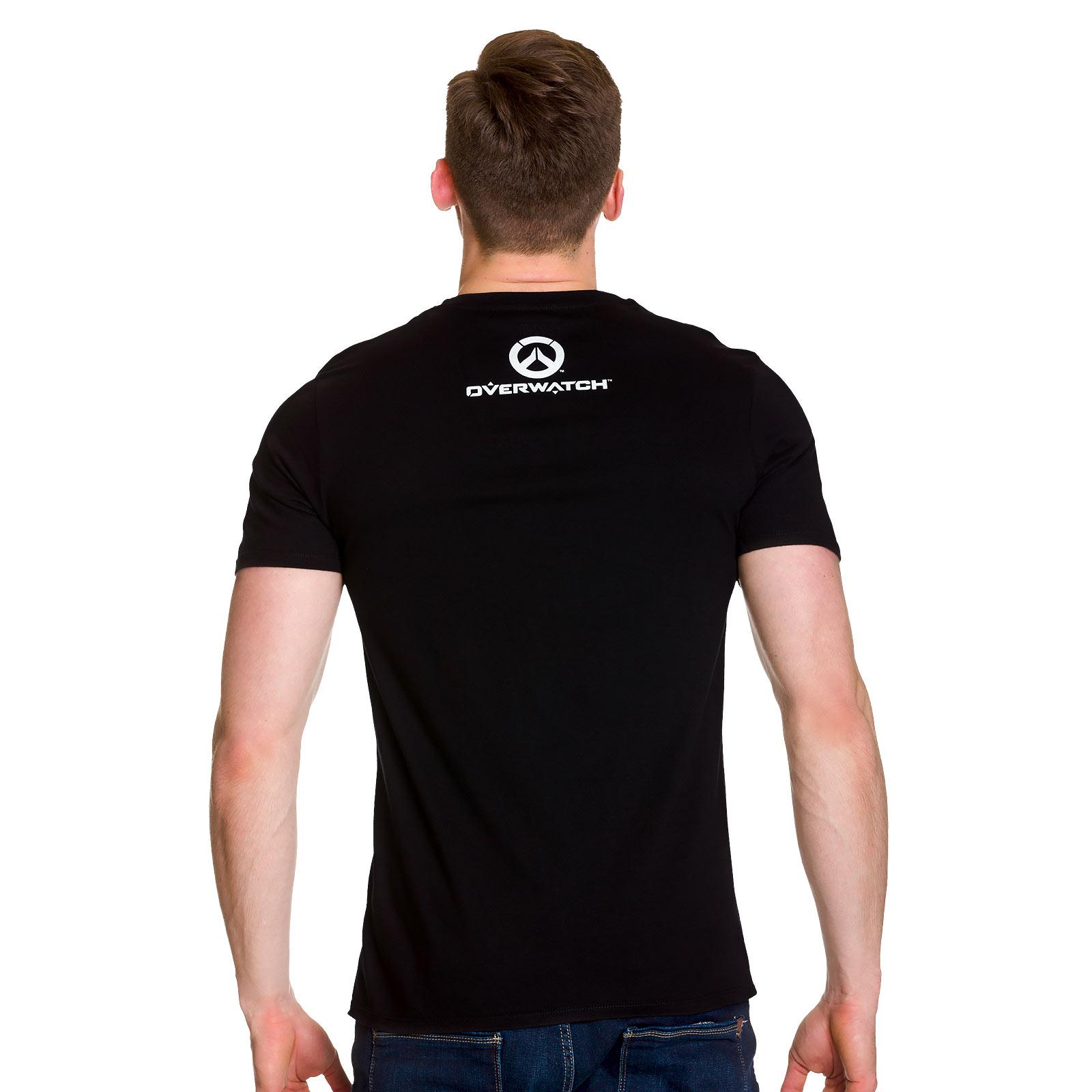 Overwatch - Torbjörns Workshop T-Shirt schwarz
