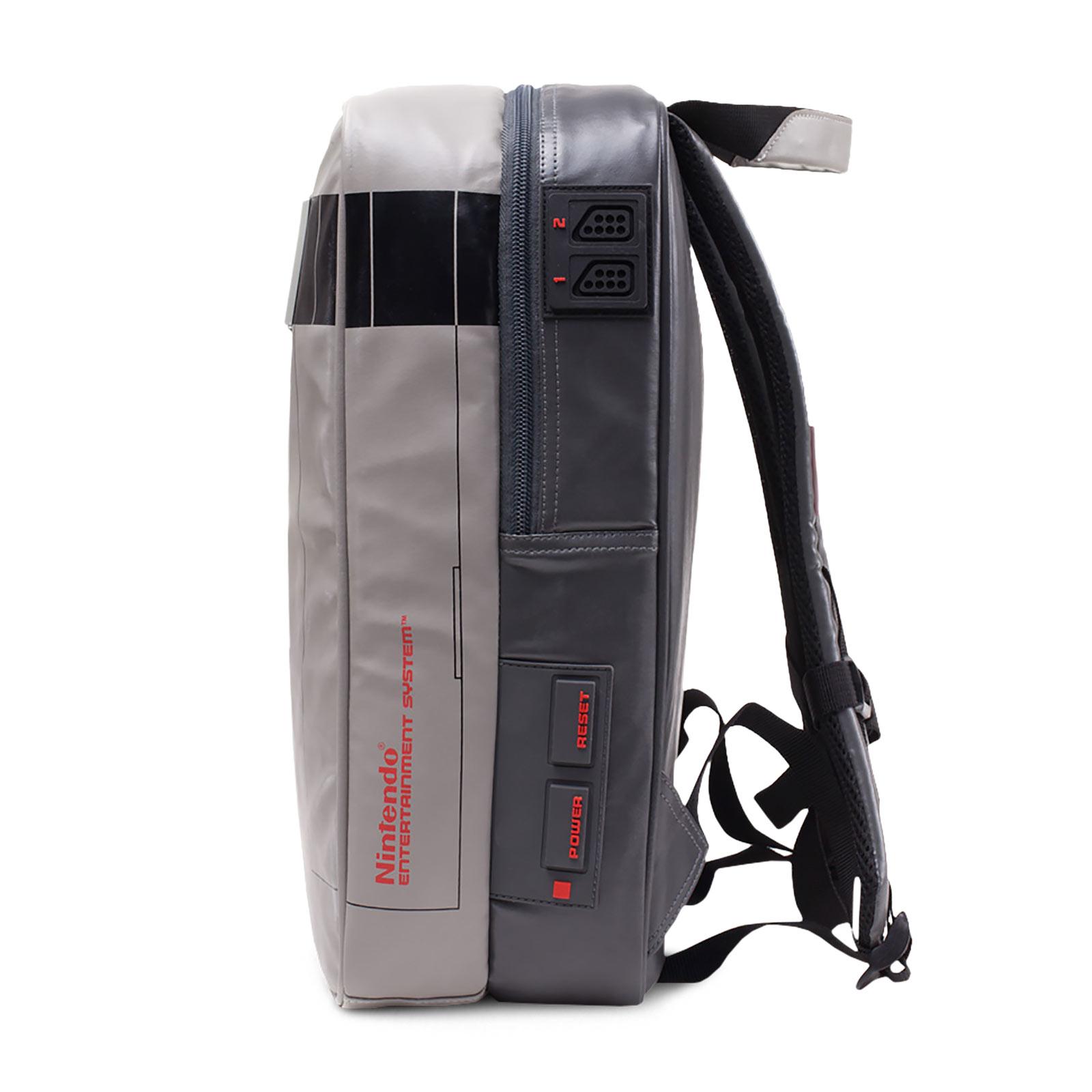 Nintendo - NES Konsole Rucksack grau