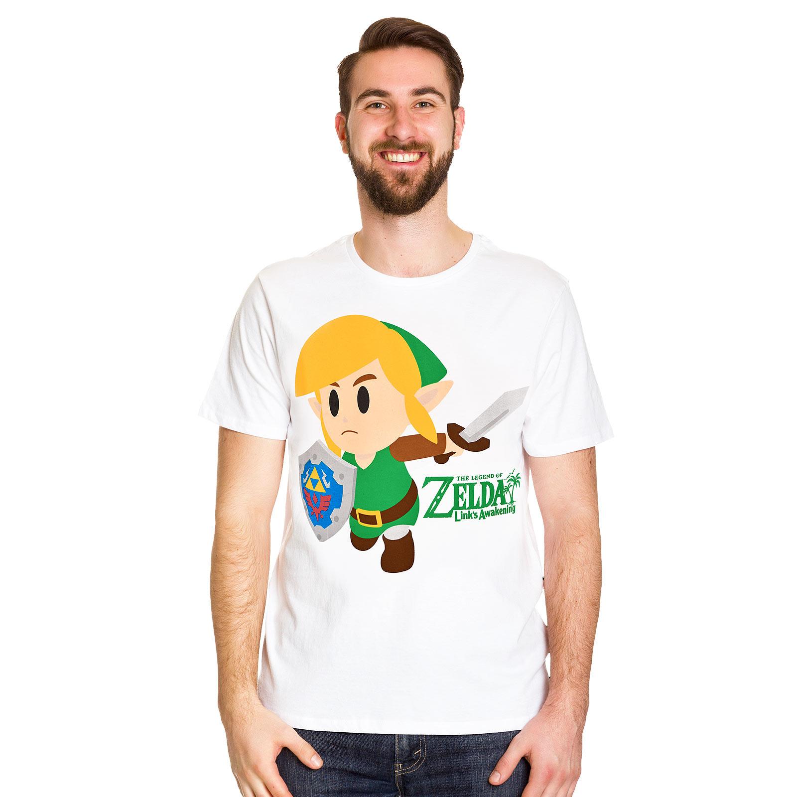 Zelda - Link's Awakening T-Shirt weiß
